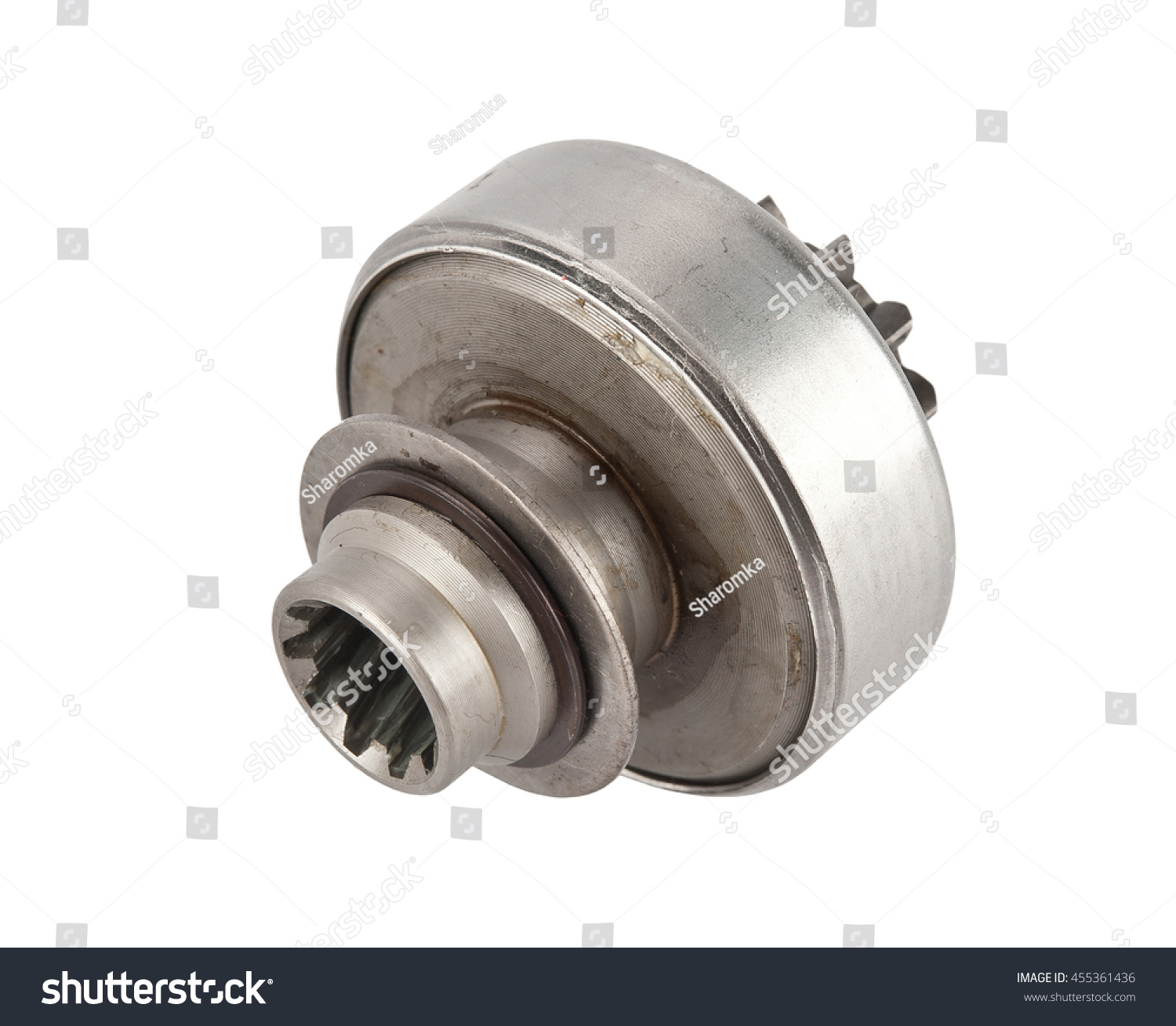 Bendix Drive Starter Detail Automobile Stock Photo Edit Now Fuel Filters For Of Motor