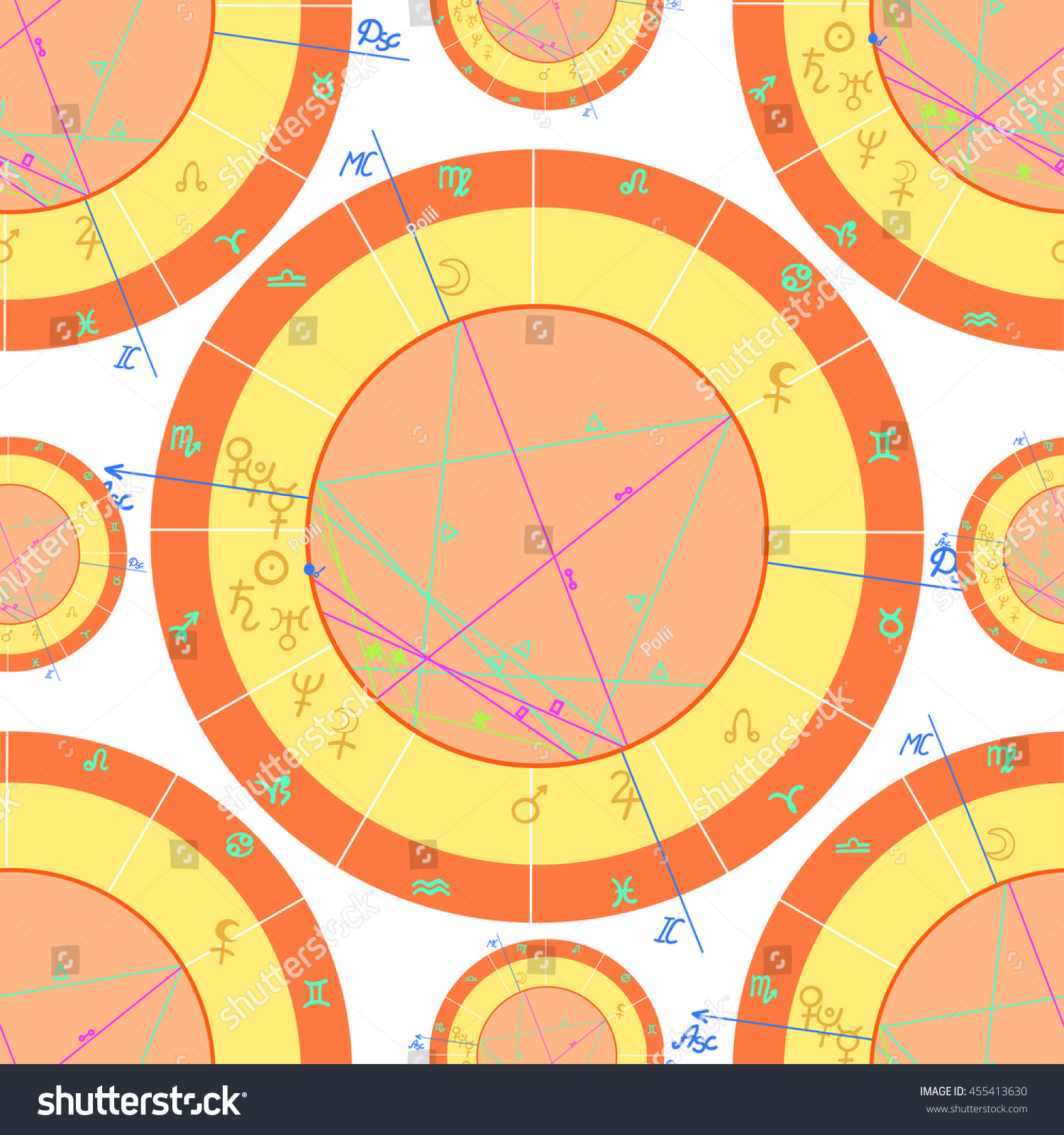 Paul mccartney birth chart gallery free any chart examples astrological charts image collections free any chart examples seamless pattern orange natal astrological charts stock vector nvjuhfo Choice Image