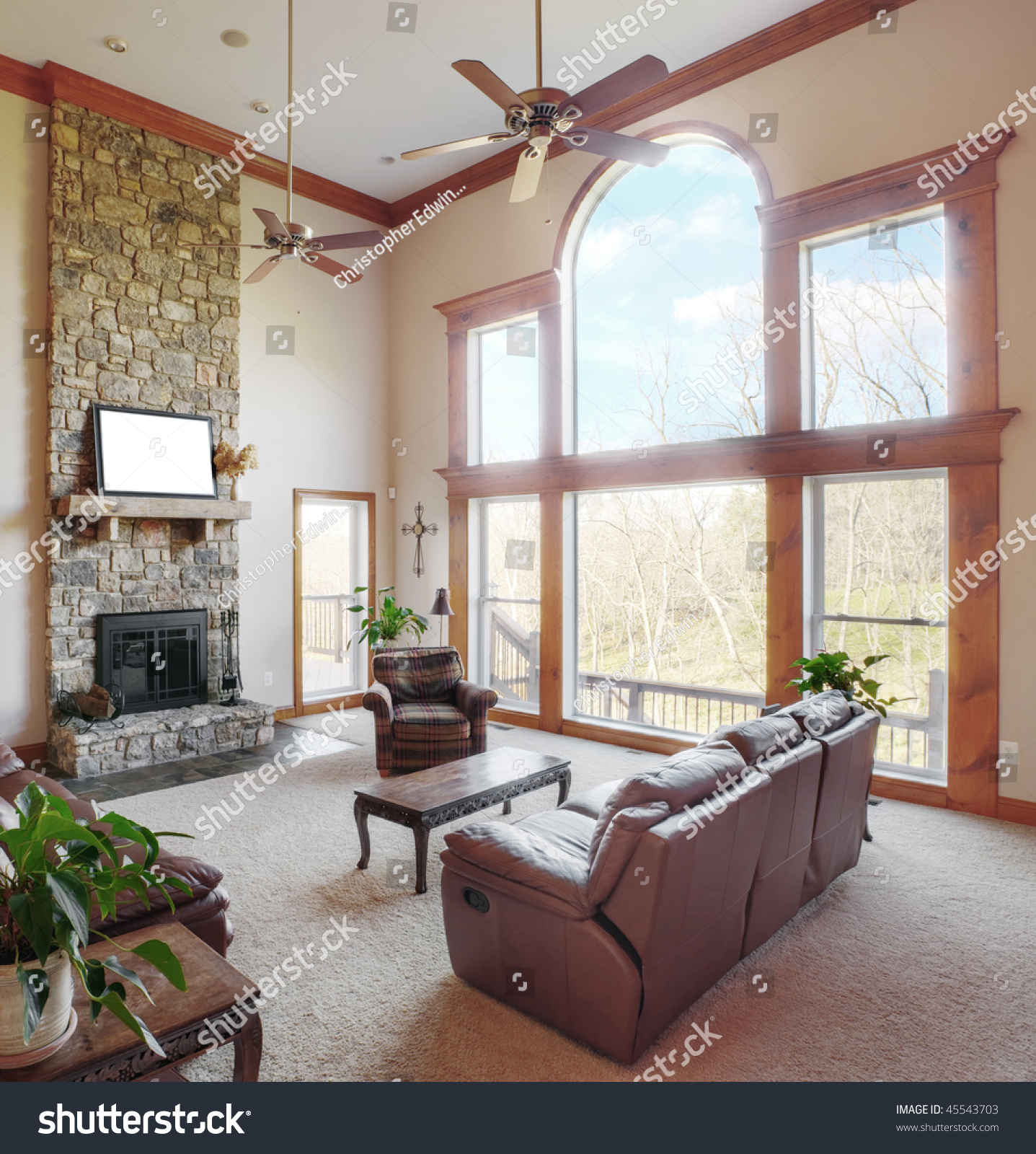 Living Room Large Windows