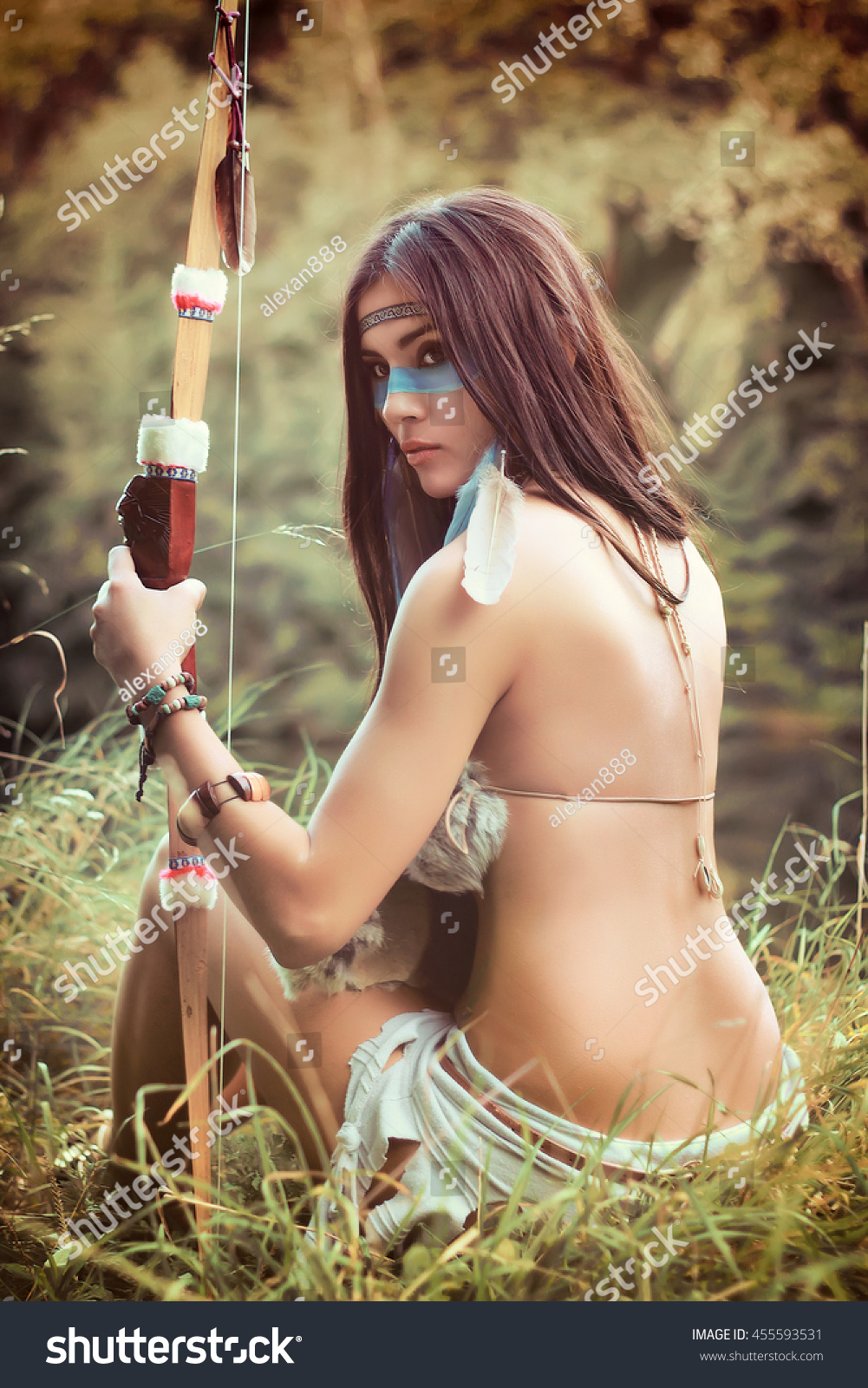 Hot native american girls naked