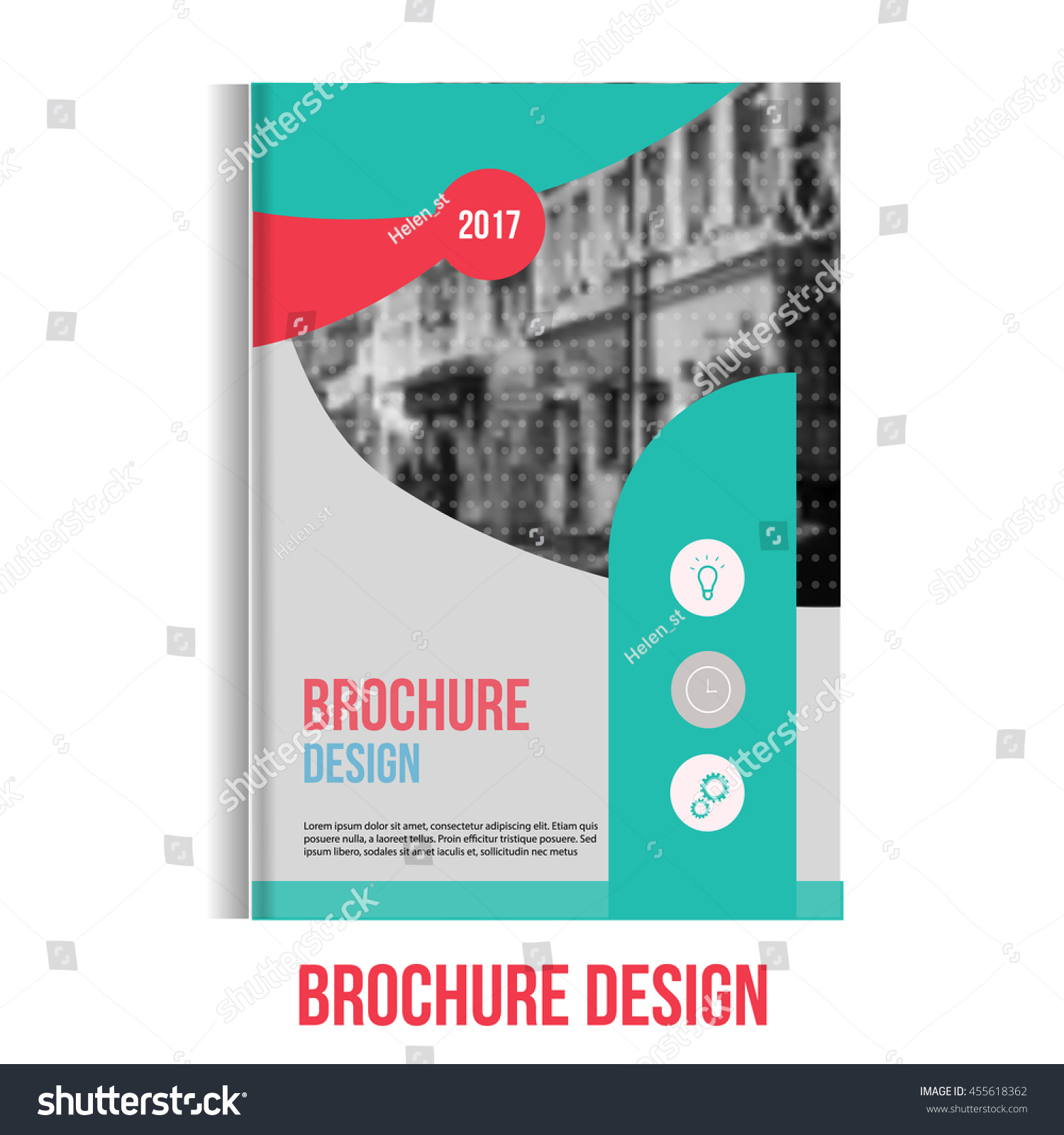 vector brochure cover template blured city landscape and vector brochure cover template blured city landscape and lines professional business presentation a4