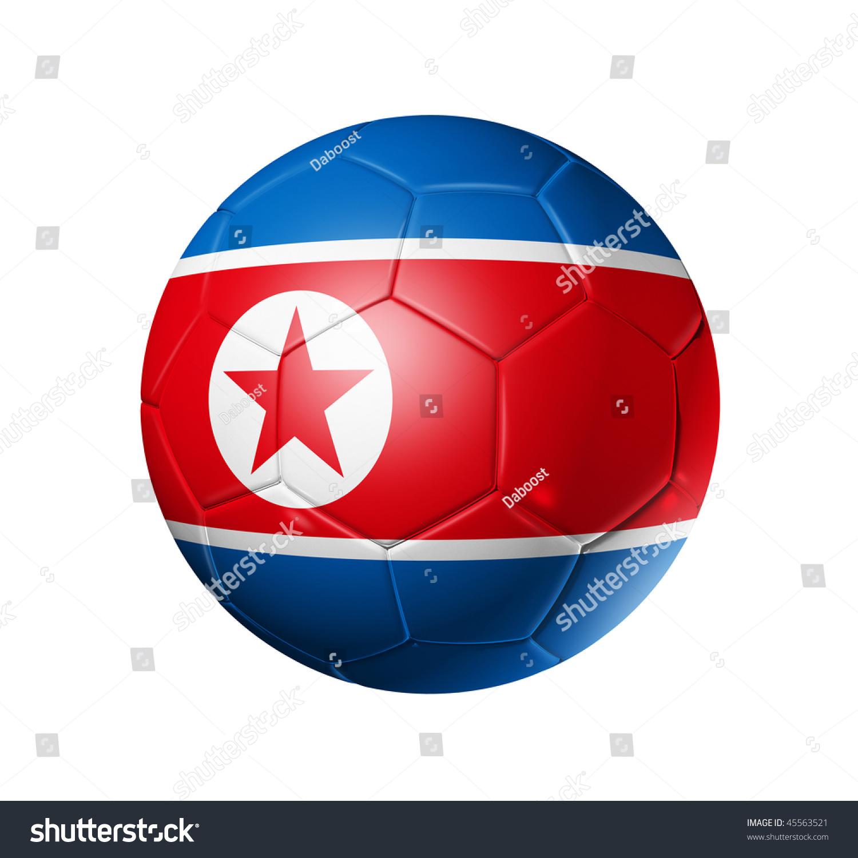 ca13d7c3eee 3 D Soccer Ball North Korea Team Stock Illustration 45563521 ...