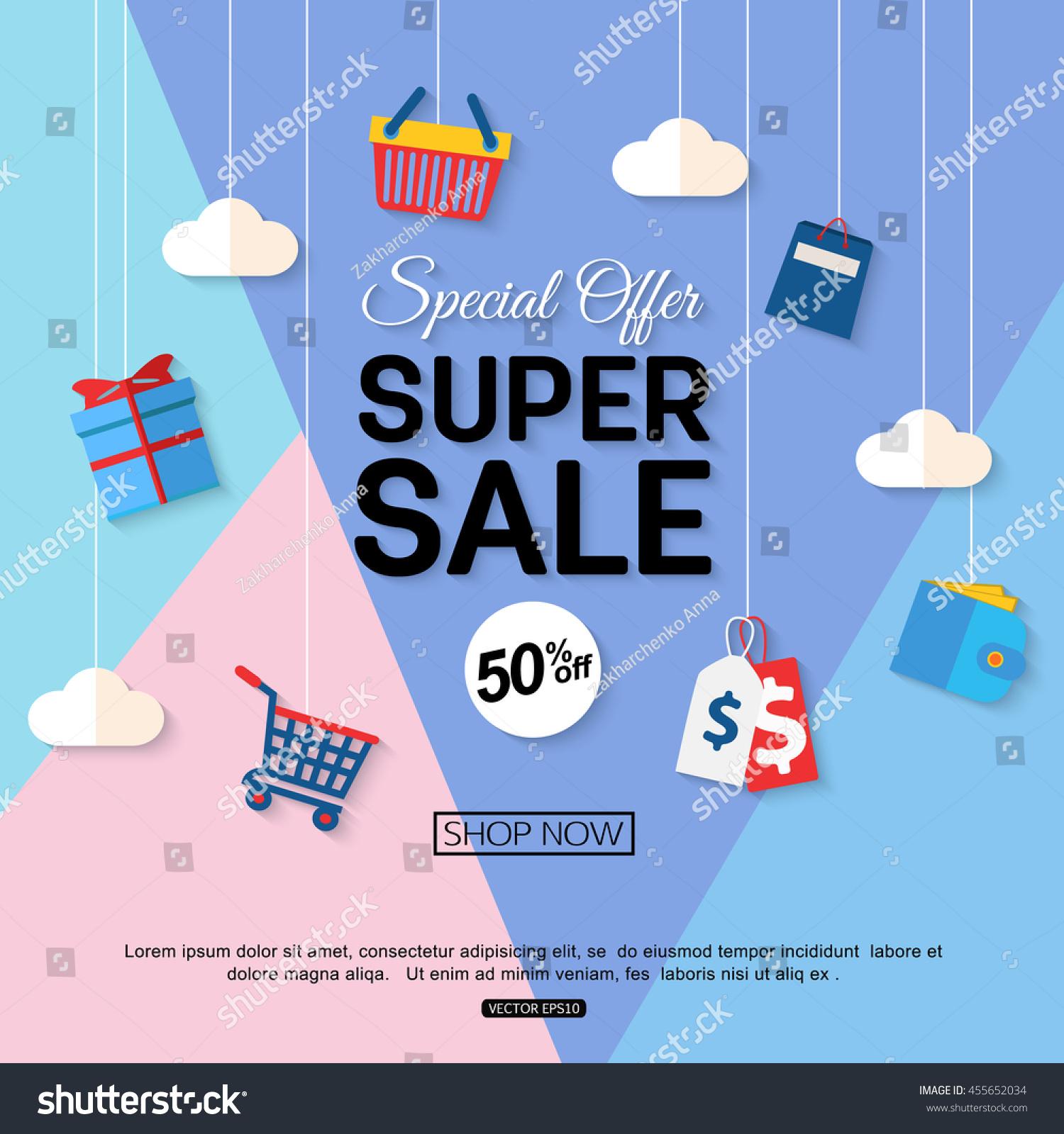 sale discount background for the online store shop promotional leaflet promotion poster. Black Bedroom Furniture Sets. Home Design Ideas