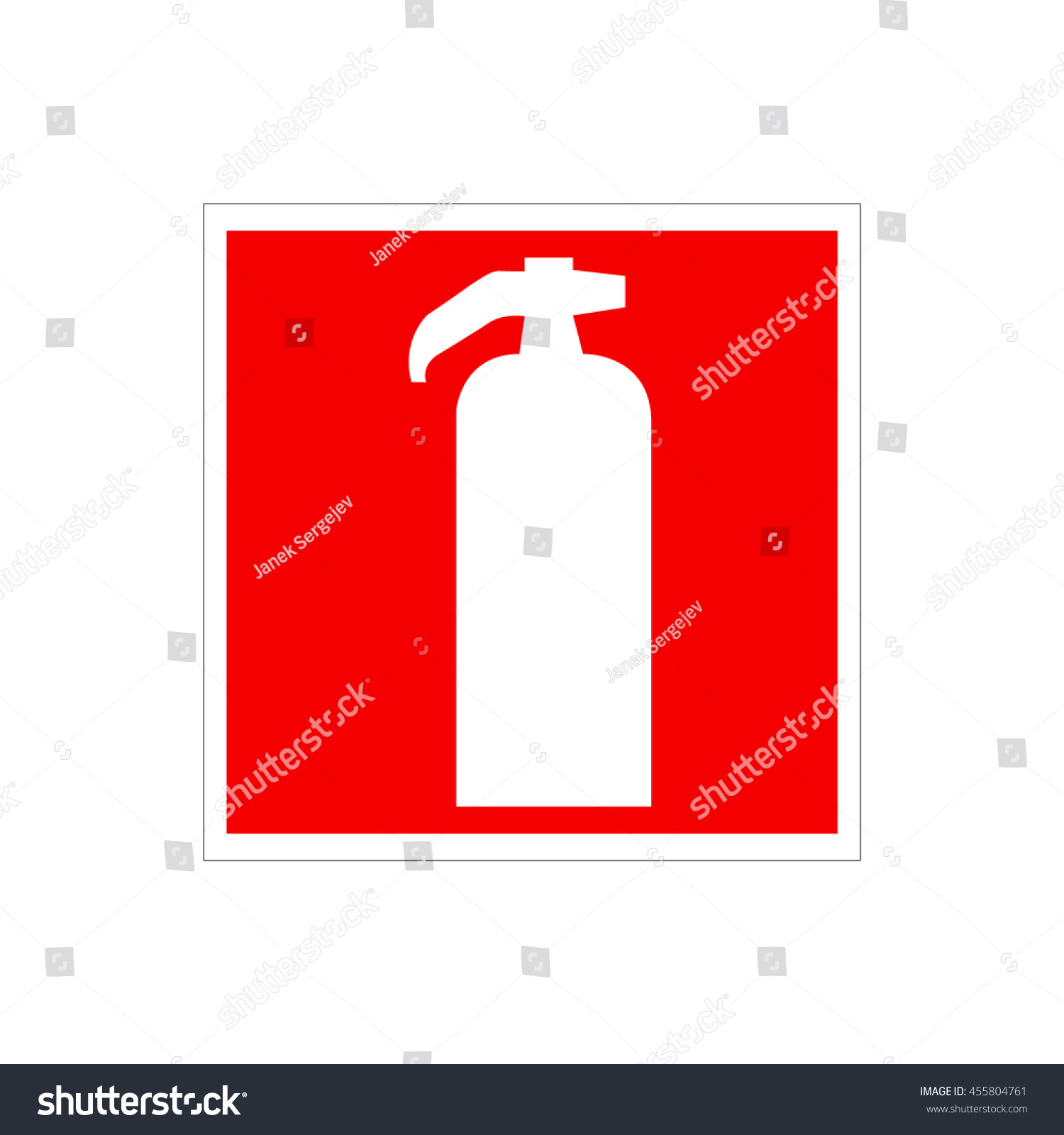 Drawing red fire extinguisher on wall stock vector 455804761 drawing of a red fire extinguisher on the wall warning european union sign white buycottarizona