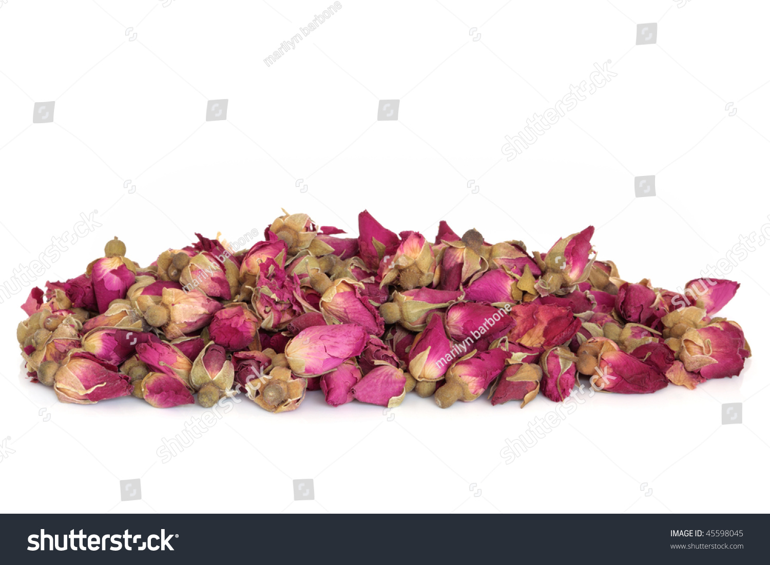Dried Rose Flower Buds Used Chinese Stock Photo Edit Now 45598045