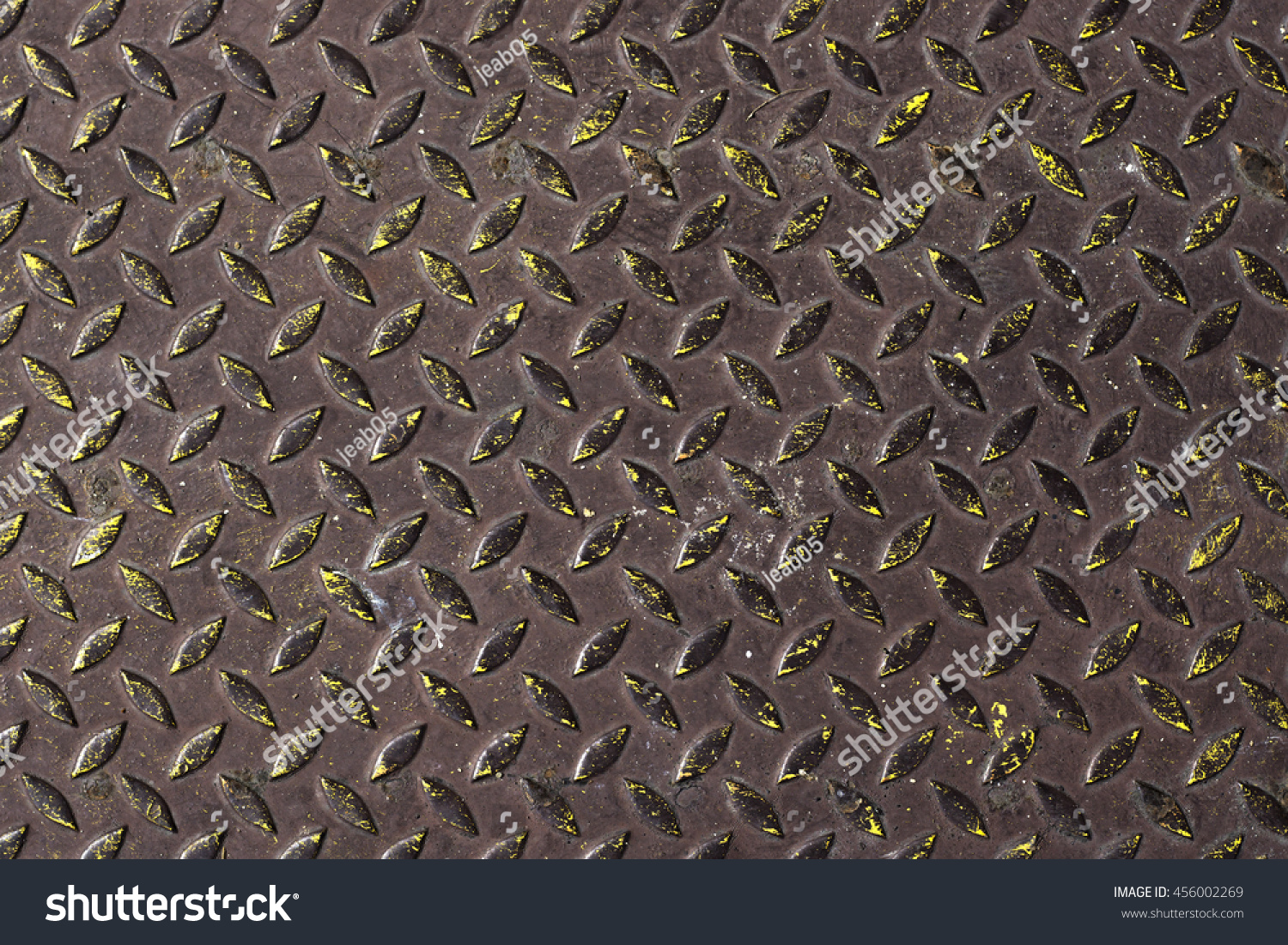 Grimy Metal Plate With Anti Slip Texture