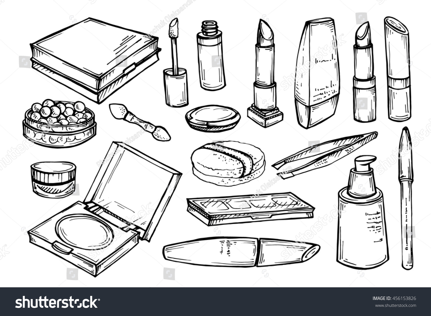 makeup products sketch cosmetics stock