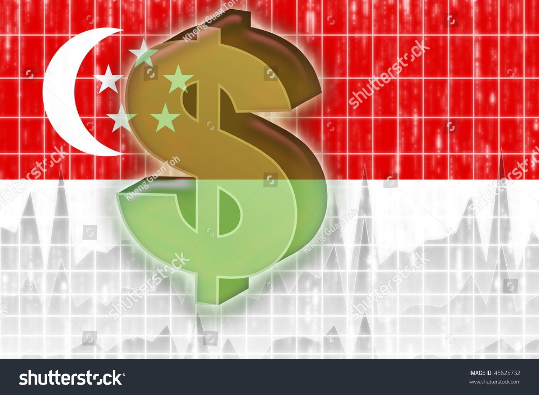 Flag singapore national country symbol illustration stock flag of singapore national country symbol illustration finance economy dollar biocorpaavc