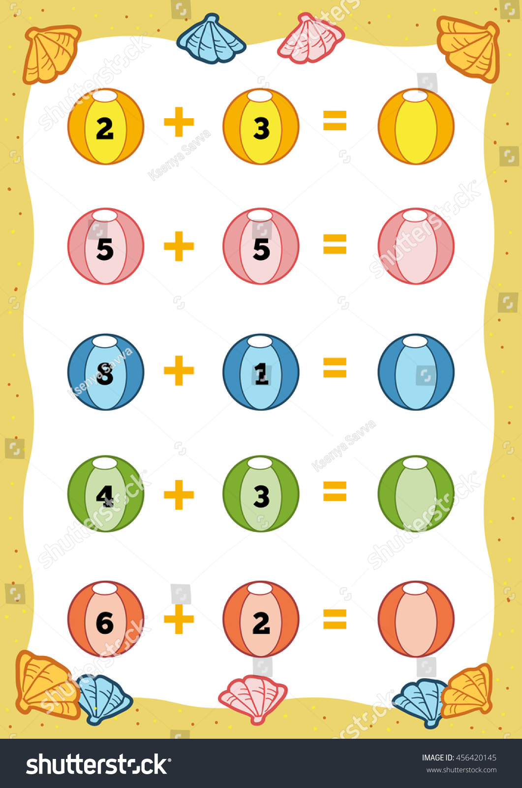 Worksheet Count The Numbers counting game for preschool children educational a mathematical count the numbers in preview save to lightbox