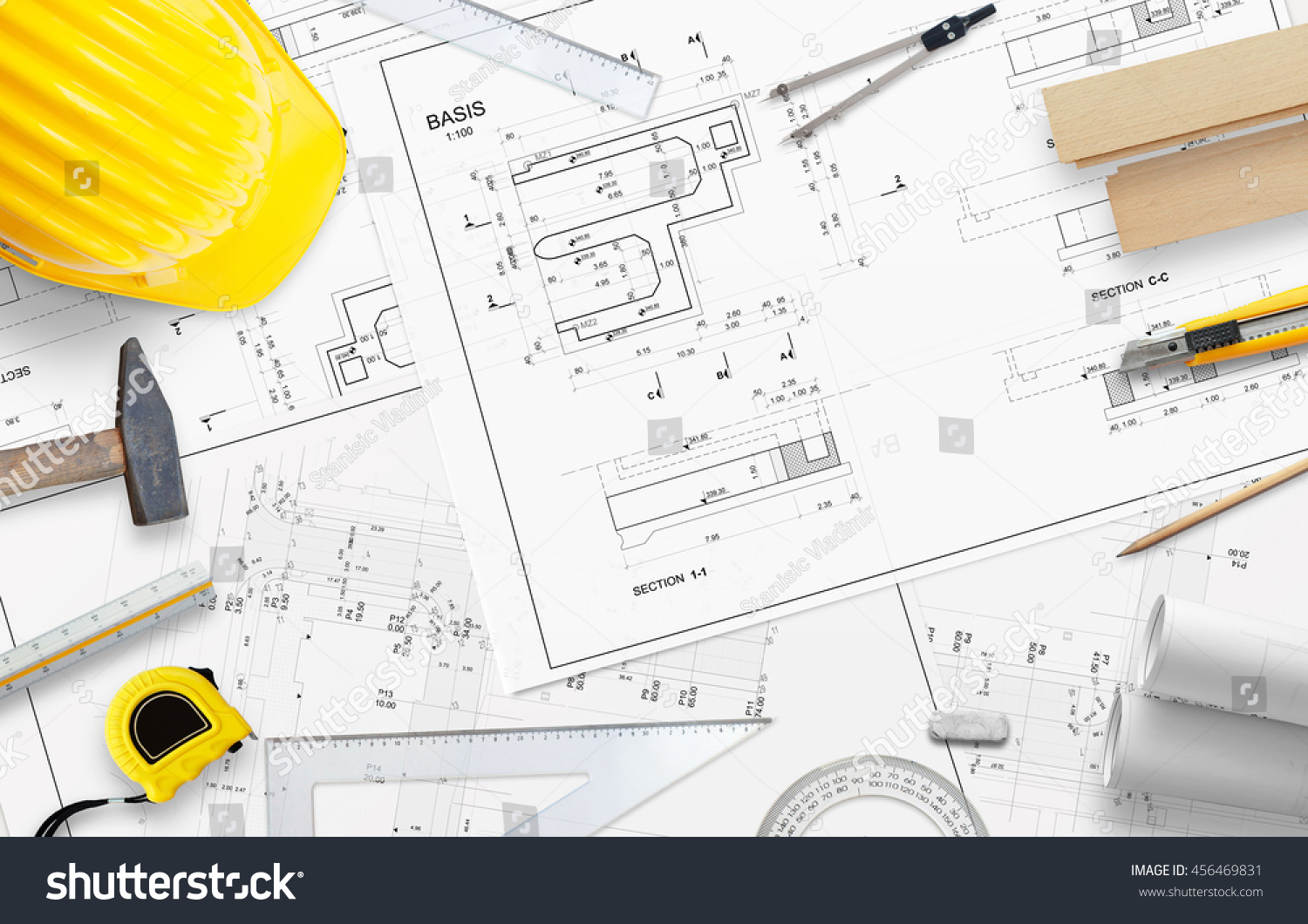 royalty free construction tools and accessories for u2026 456469831