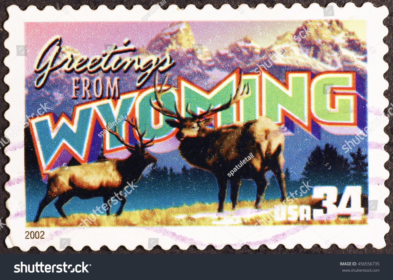 Miian italy july 21 2016 greetings stock photo 456556735 miian italy july 21 2016 greetings from hawaii postcard on postage stamp kristyandbryce Choice Image