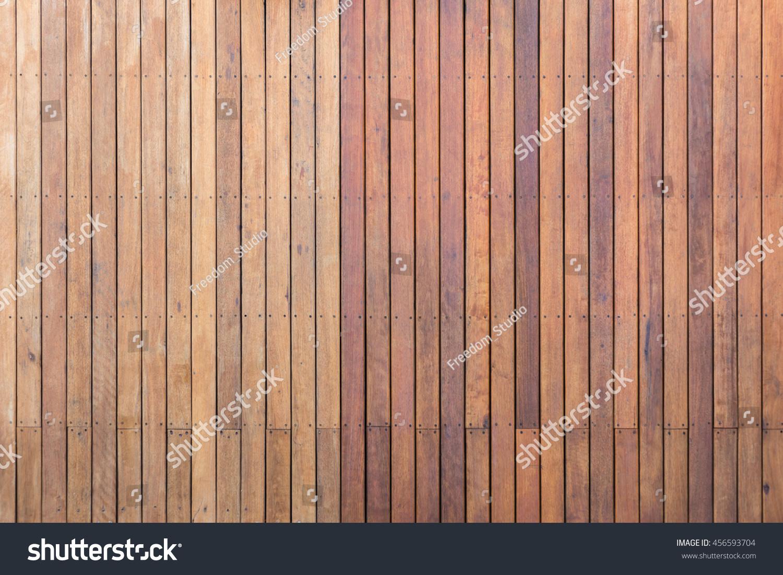 Old exterior wooden decking flooring on stock foto for Exterior hardwood decking