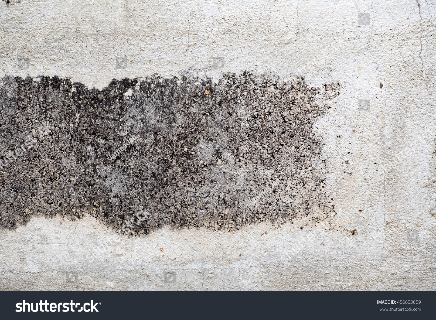 White Concrete Wall : White concrete wall texture stock photo