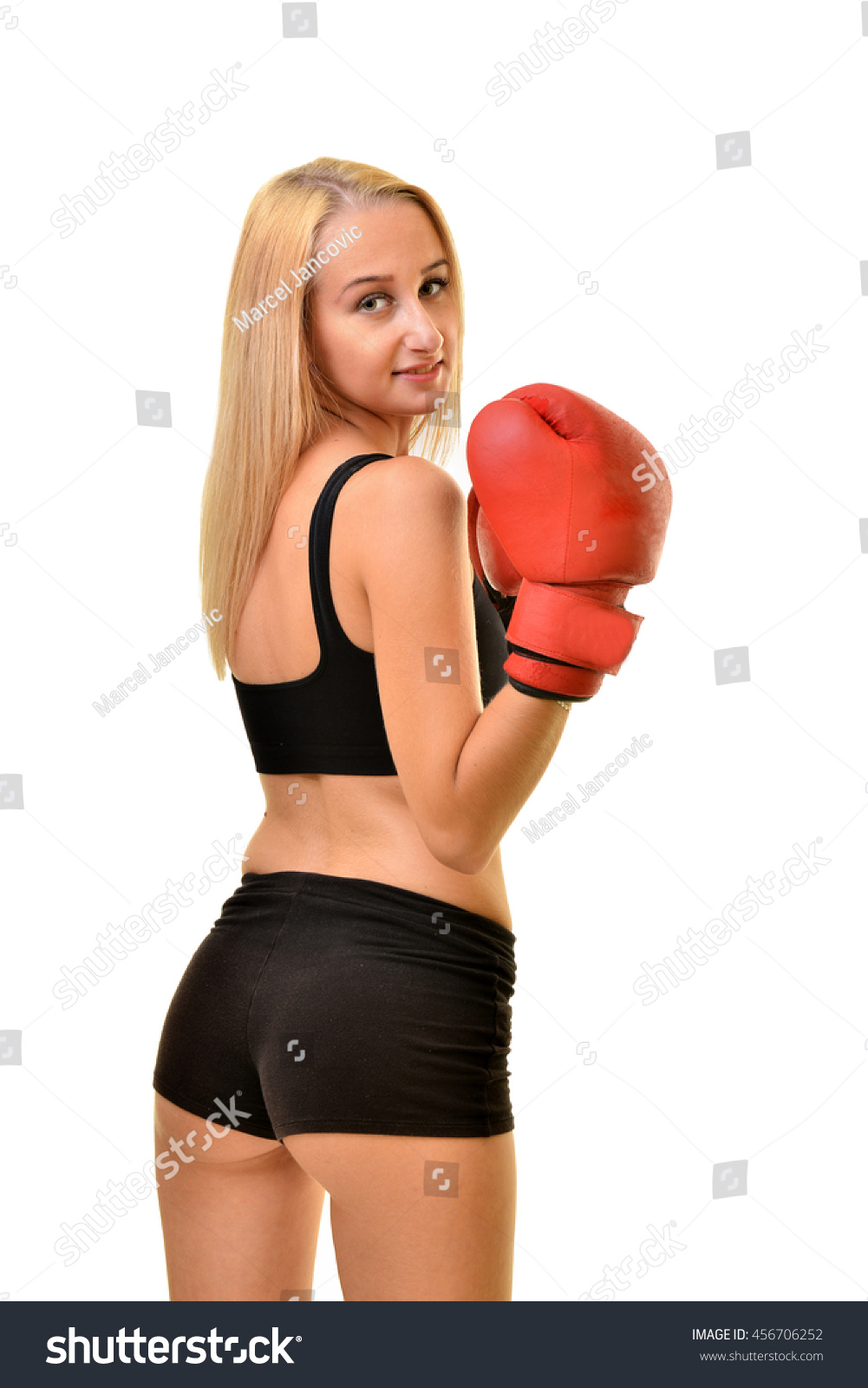 Sexy ladies boxing