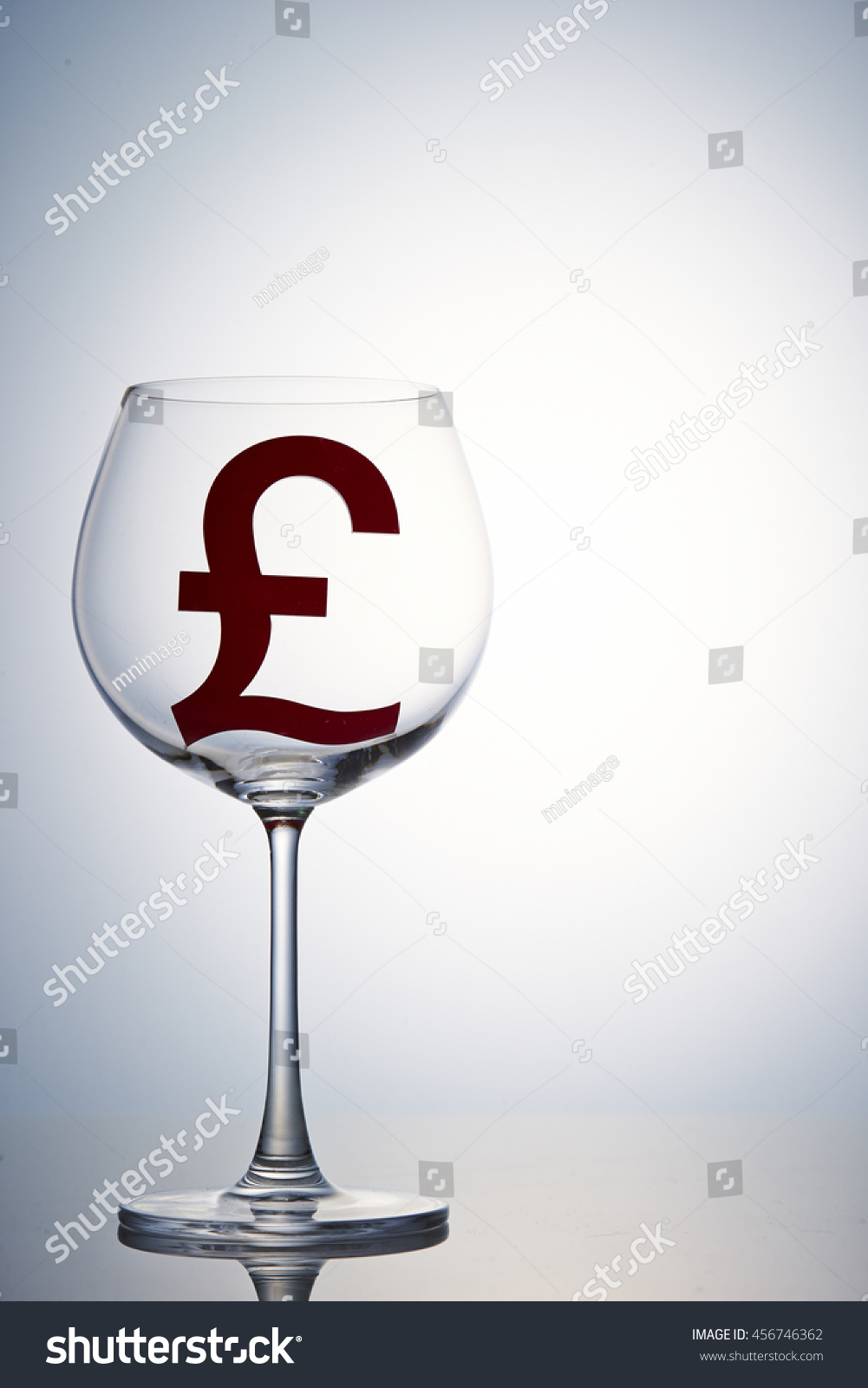 British pound currency symbol wine glass stock photo 456746362 british pound currency symbol in wine glass biocorpaavc Images