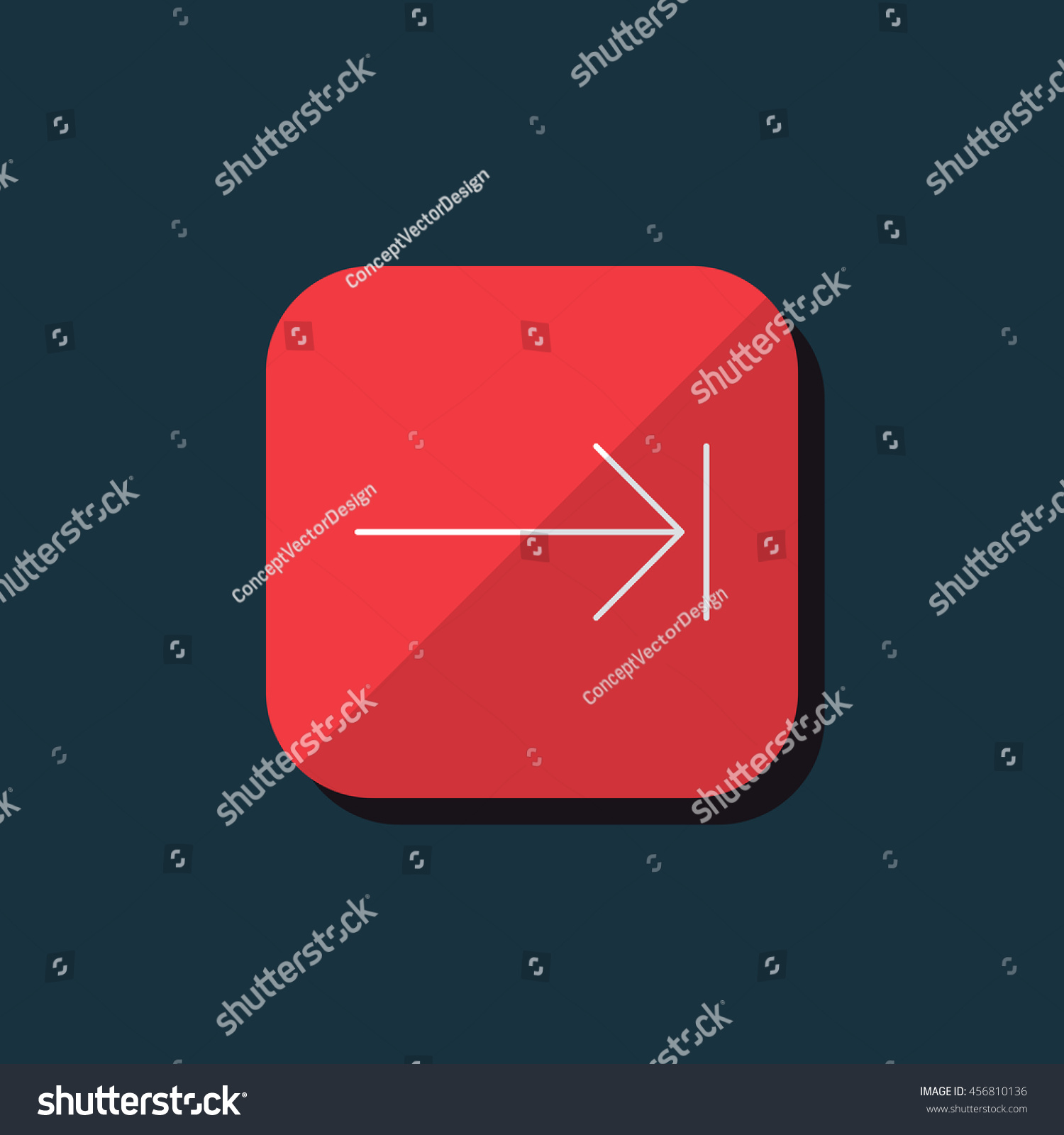 Vector Key Illustration: Vector Illustration Of Tab Key Icon