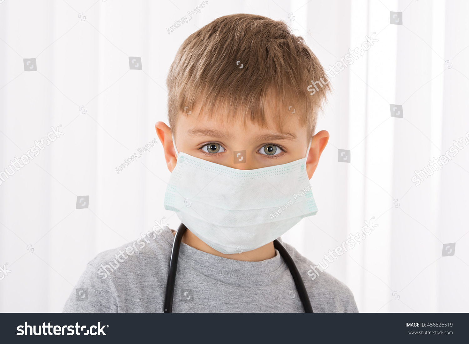 Now Photo 456826519 Portrait Boy Mask Stock edit Doctor Surgical