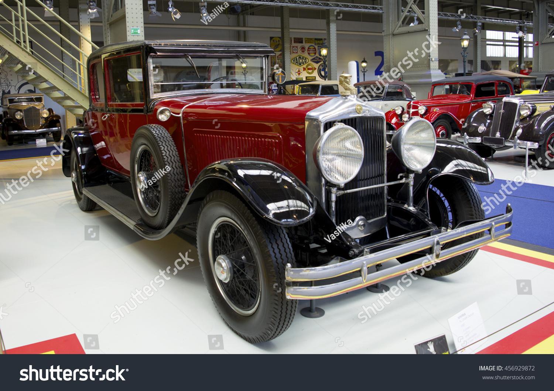 Autoworld Museum Brussels Belgium 10 July Stock Photo 456929872 ...