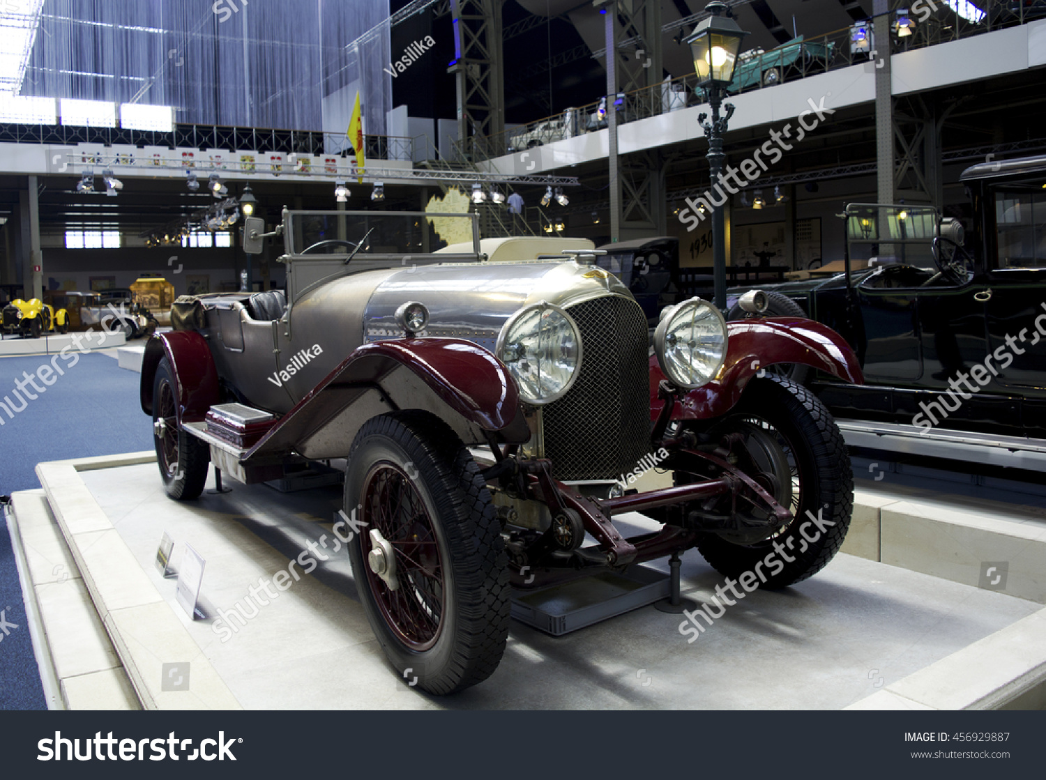 Autoworld Museum Brussels Belgium 10 July Stock Photo 456929887 ...