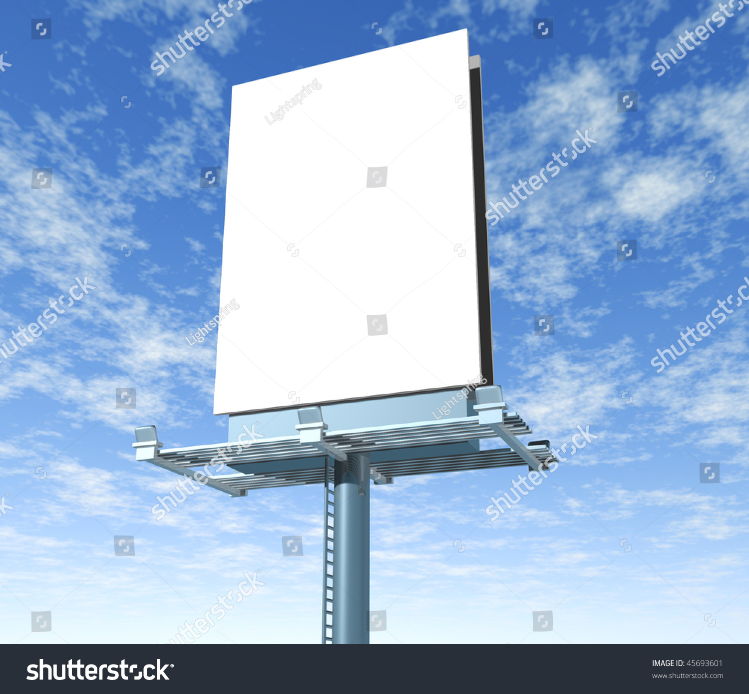 Blank vertical billboard advertising on the street vector images over 2400 stopboris Images