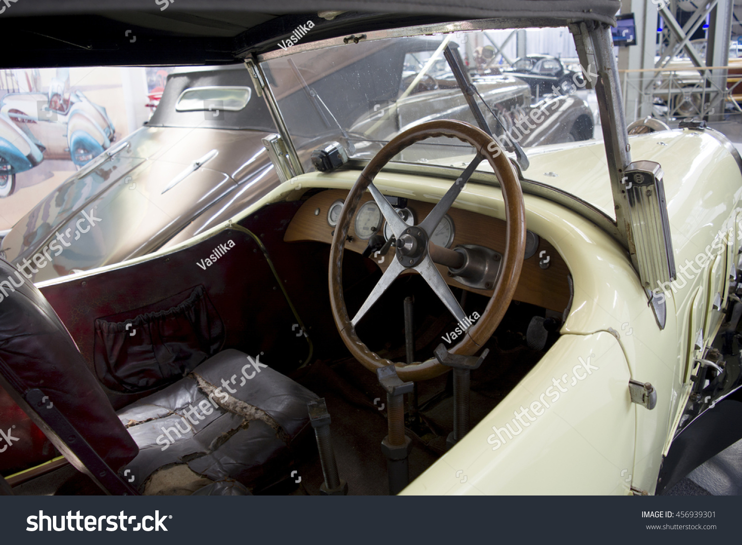 Autoworld Museum Brussels Belgium July 10 Stock Photo 456939301 ...
