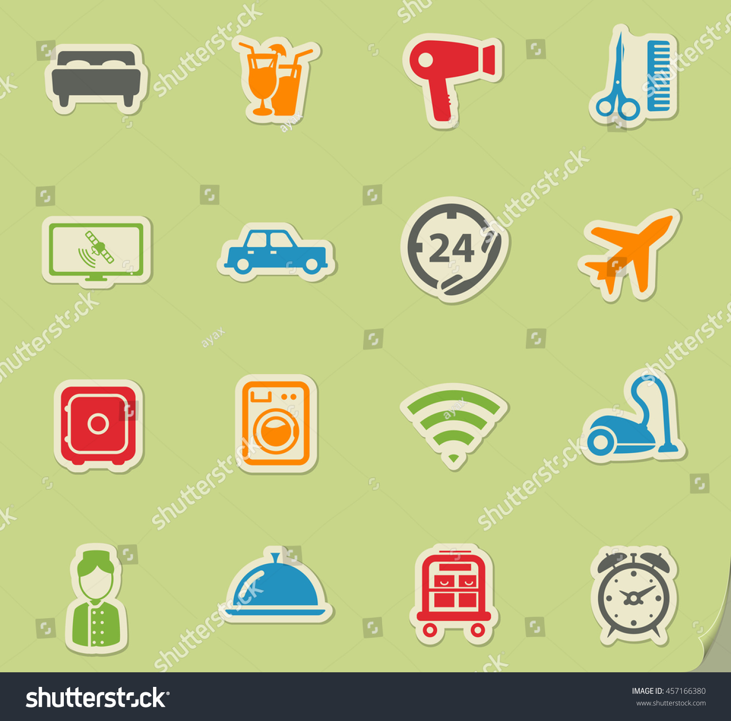 A Hotel Simply Hotel Simply Symbol Web Icons User Stock Vector 457166380
