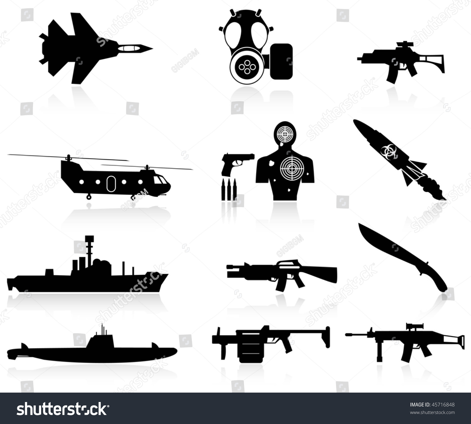 war weapons clipart - photo #11
