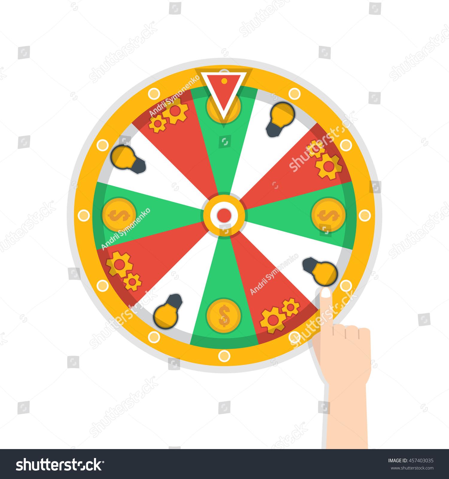 Wheel Of Fortune Icon Ez Canvas