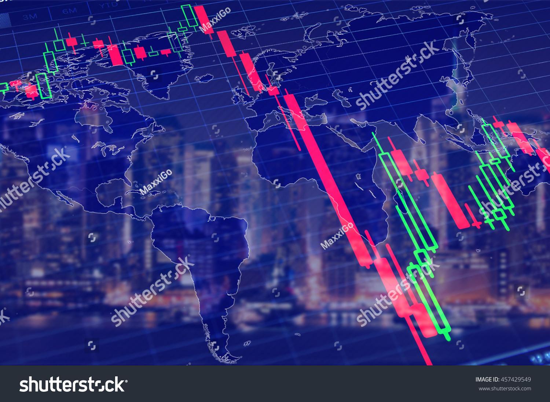 Economy crisis global recession concept stock stock photo 457429549 economy crisis global recession concept stock market graph down collapse stock market graph buycottarizona Gallery