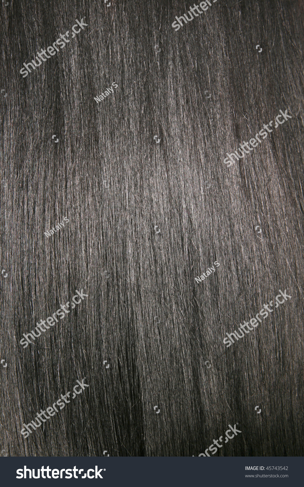 Beautiful Shiny Black Hair Texture Background Stock Photo ...