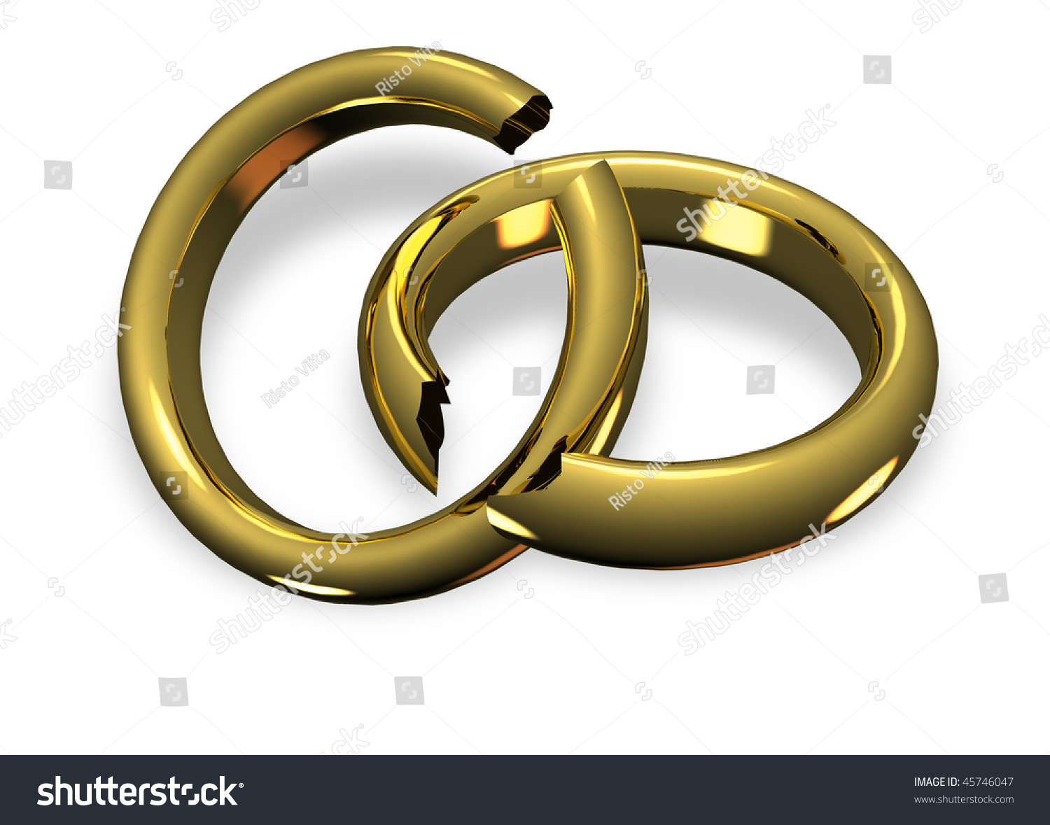 vector rings broken image stock photo bigstock wedding