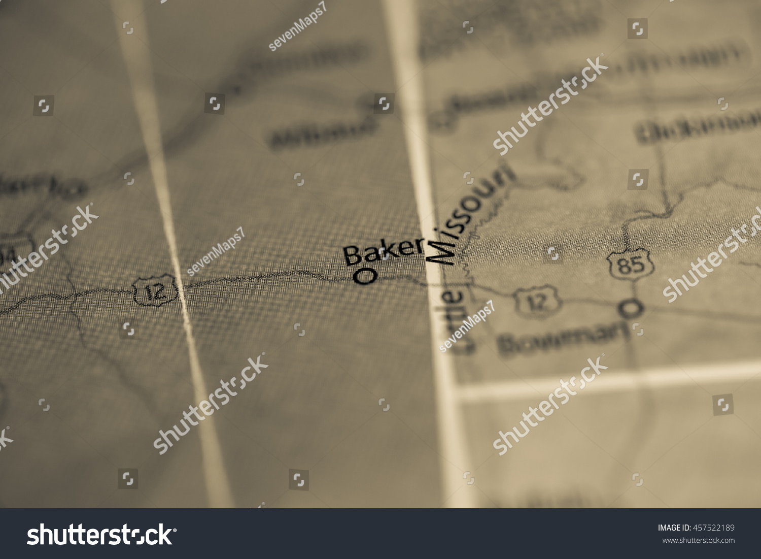 Baker Montana Usa Stock Photo Edit Now 457522189 Shutterstock