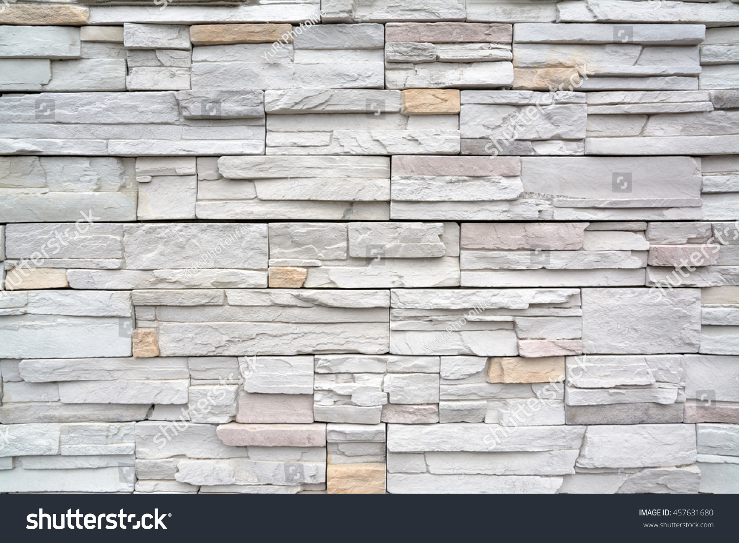 White Modern Brick Wall Stock Photo, Picture And Royalty Free ...
