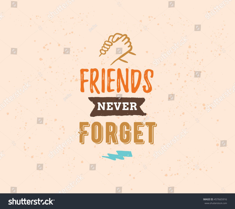 Happy friendship day vector typographic design stock vector royalty happy friendship day vector typographic design inspirational quote about friendship quote about friendship m4hsunfo