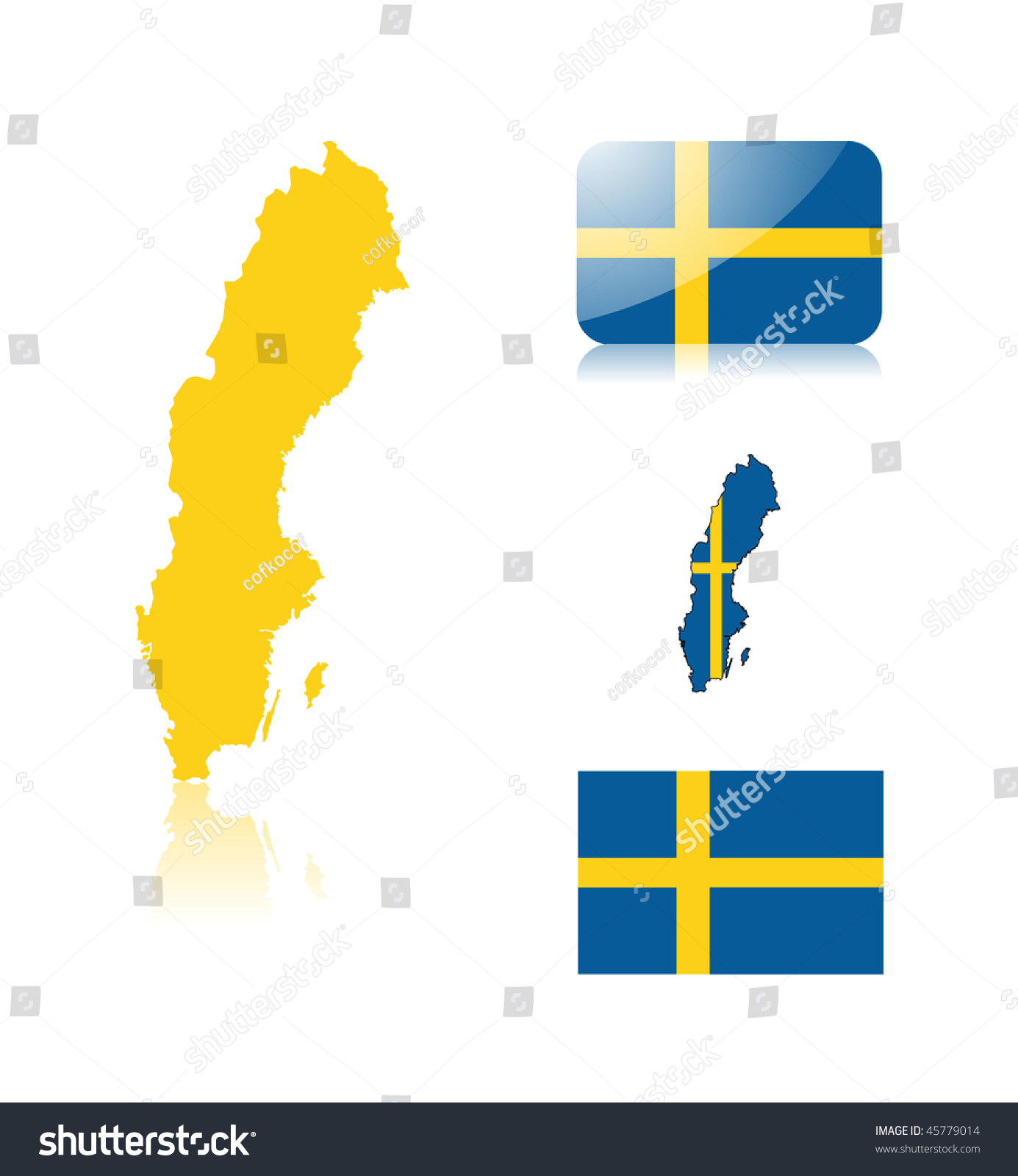 Clipart Sweden Map Flag What Is Map - Sweden map flag