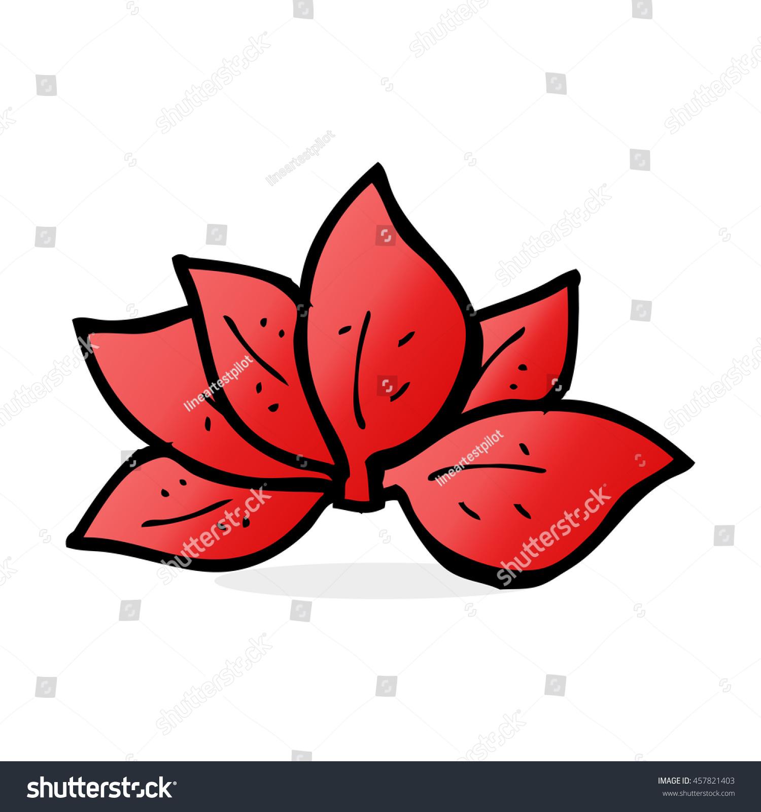 cartoon leaves symbol stock illustration 457821403 shutterstock