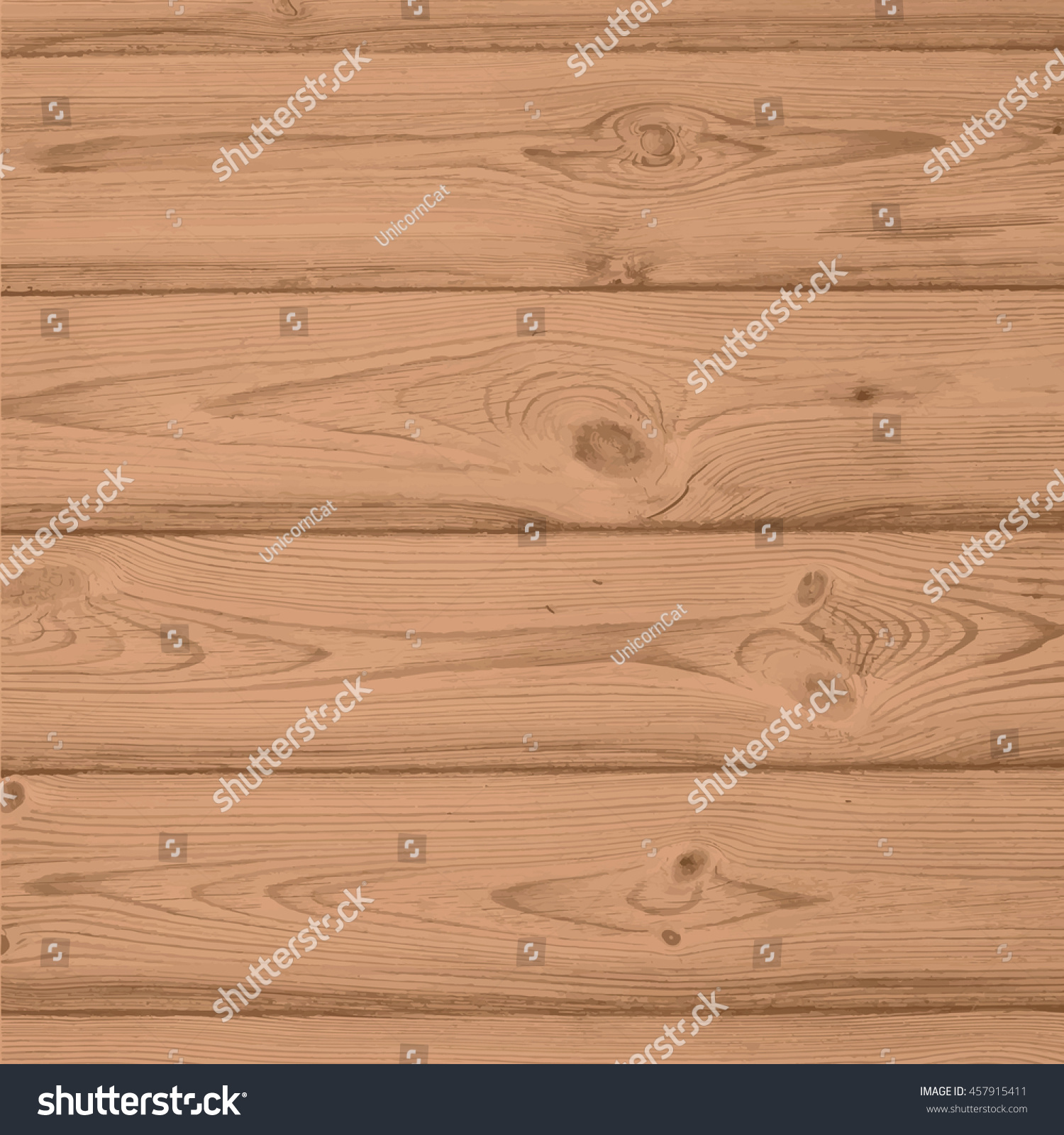 Texture Of Light Wood Vector Horizontal Wooden Panel