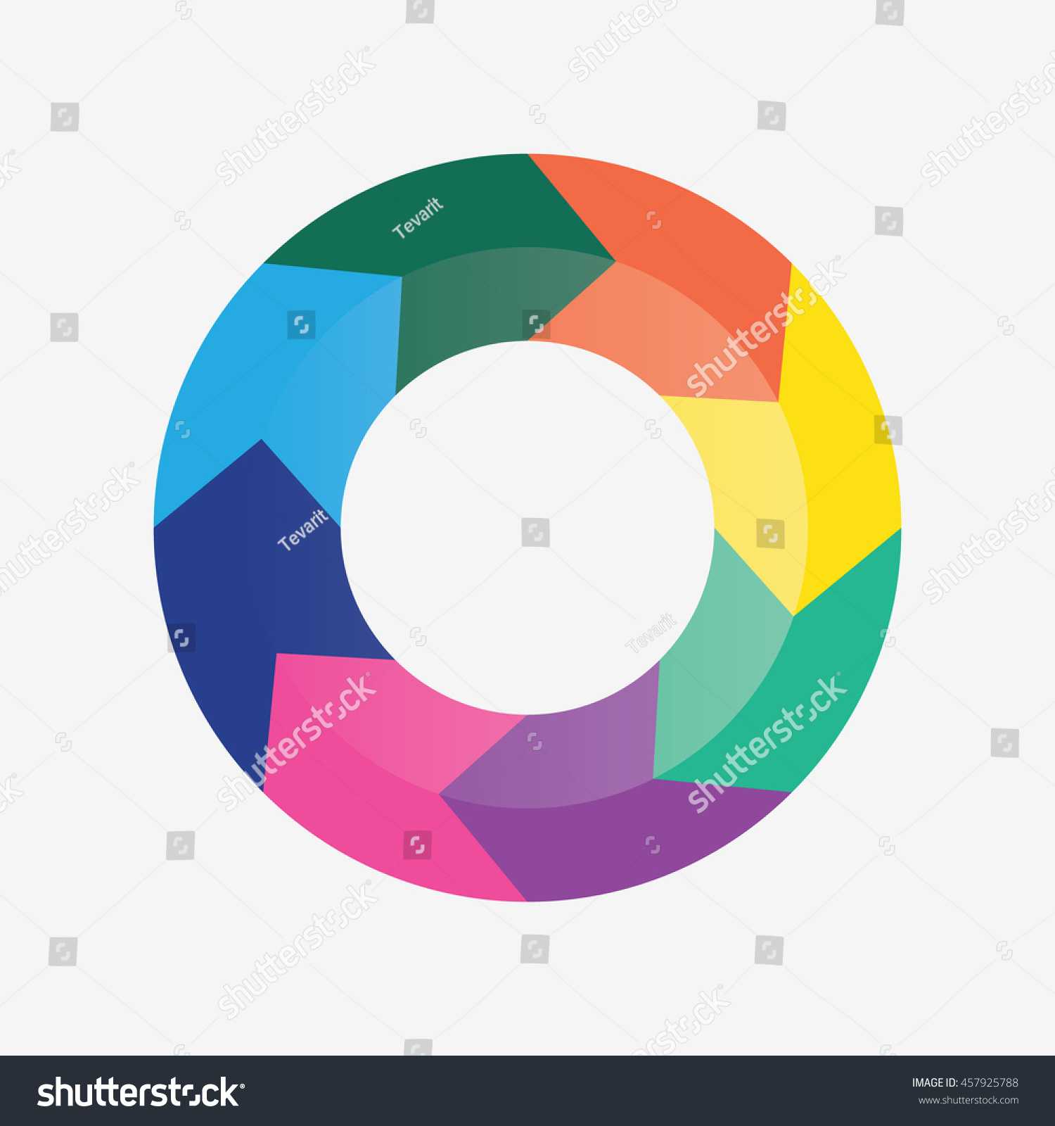 Info template pie charts 8 steps stock vector 457925788 shutterstock info template pie charts with 8 steps nvjuhfo Image collections