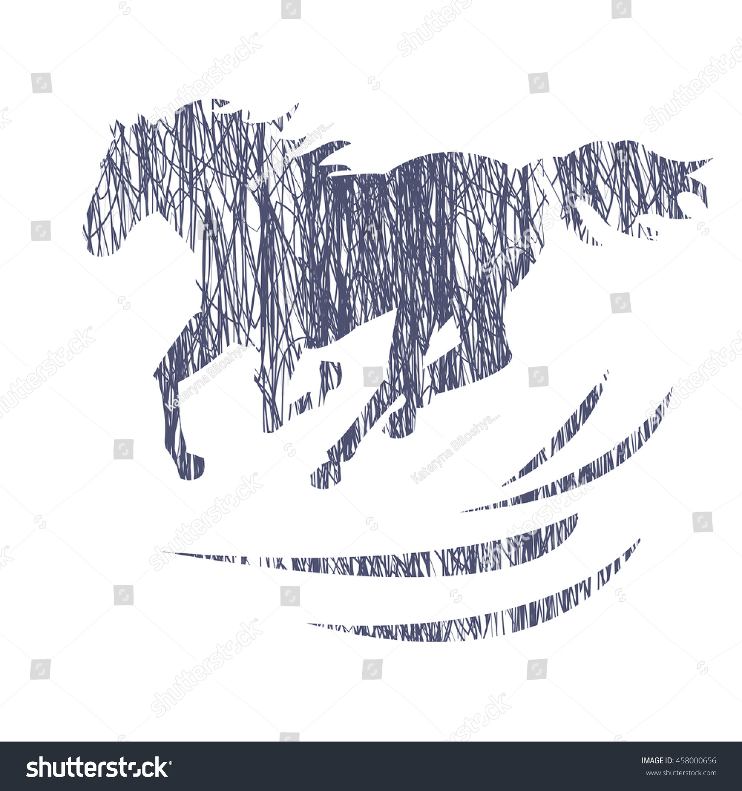How To Draw A Horse Silhouette Solution For How To For Dummies