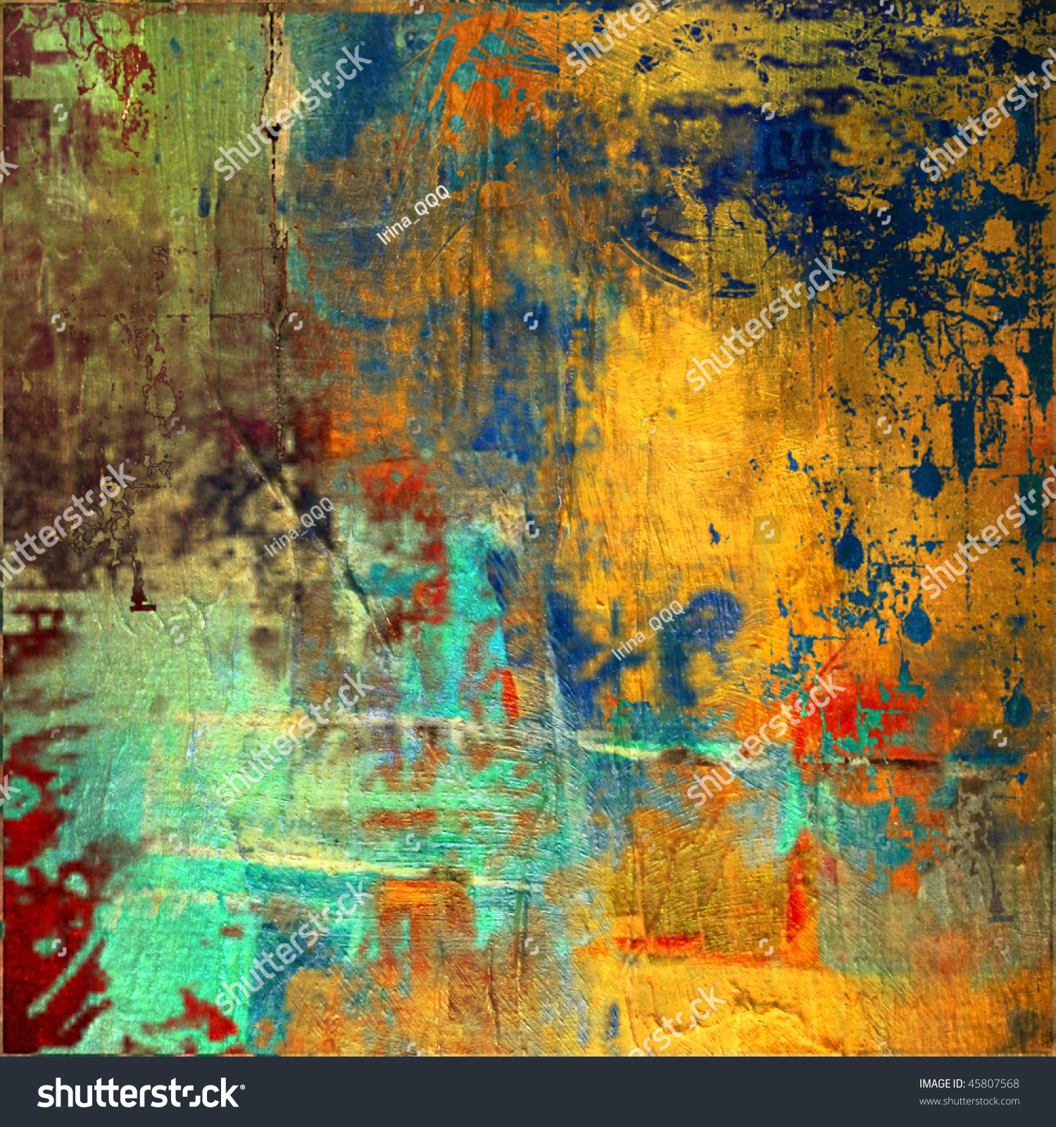 Art colorful grunge vibrant painted background stock - Vibrant background ...