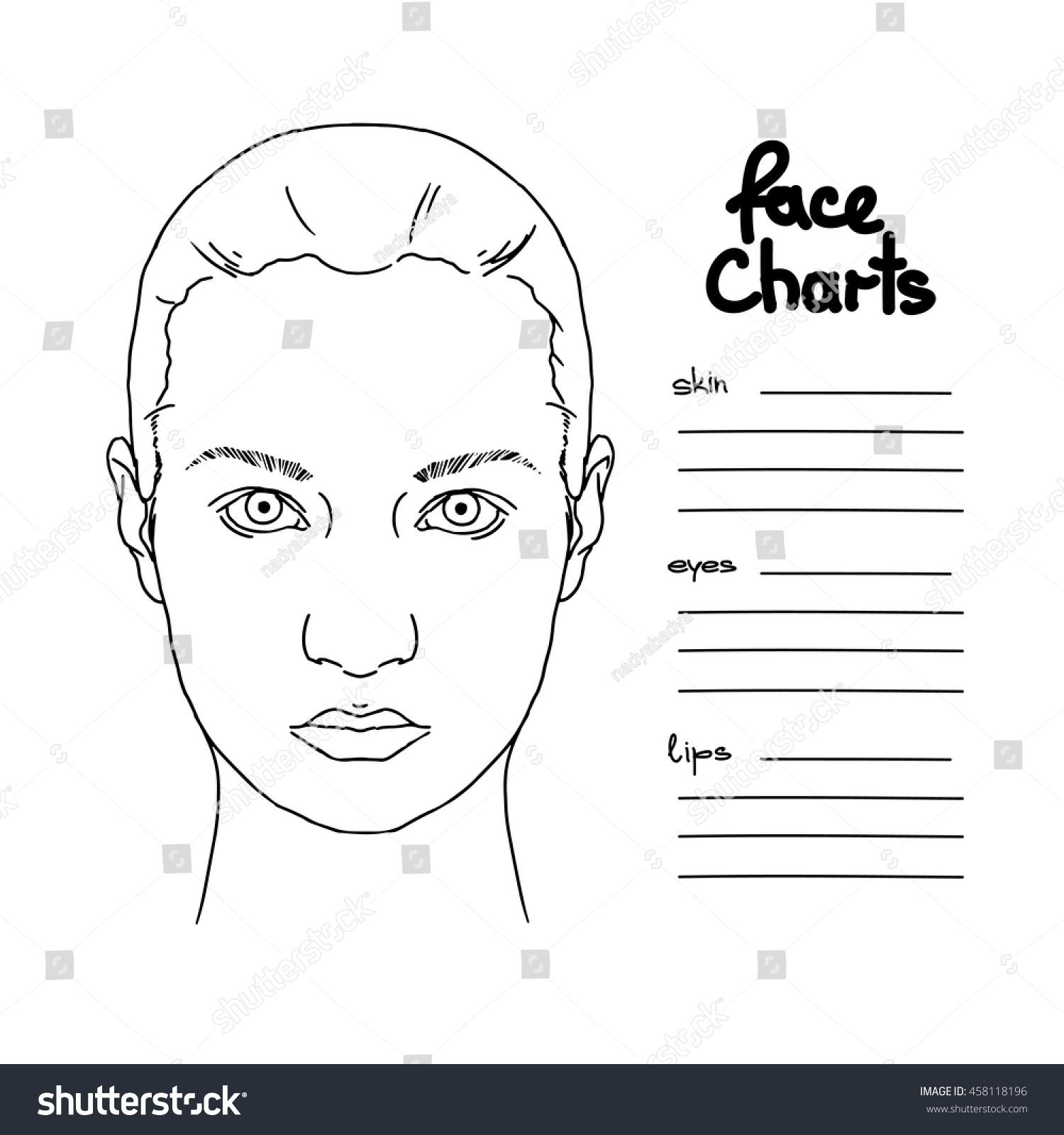 Eye chart template 100 eye multiplication equations worksheet simple dmv eye charts choice image chart example ideas stock vector beautiful woman portrait face chart makeup nvjuhfo Images