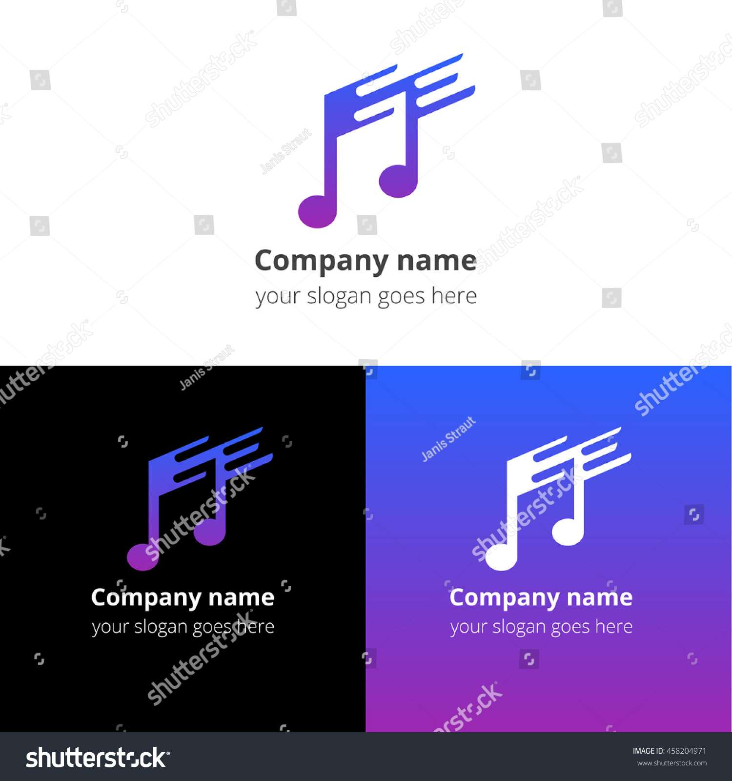 Music note fastslow motion beat flat stock vector 458204971 music note and fast slow motion beat flat logo icon emblem sign buycottarizona Image collections