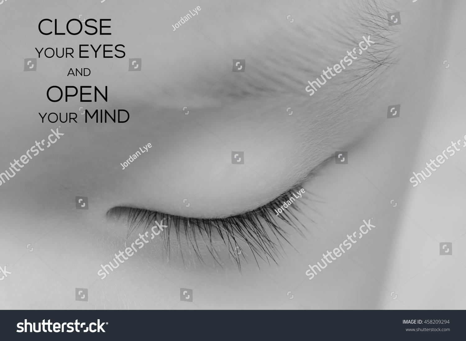Life Inspirational Quotes Words Close Your Stock Photo Edit Now