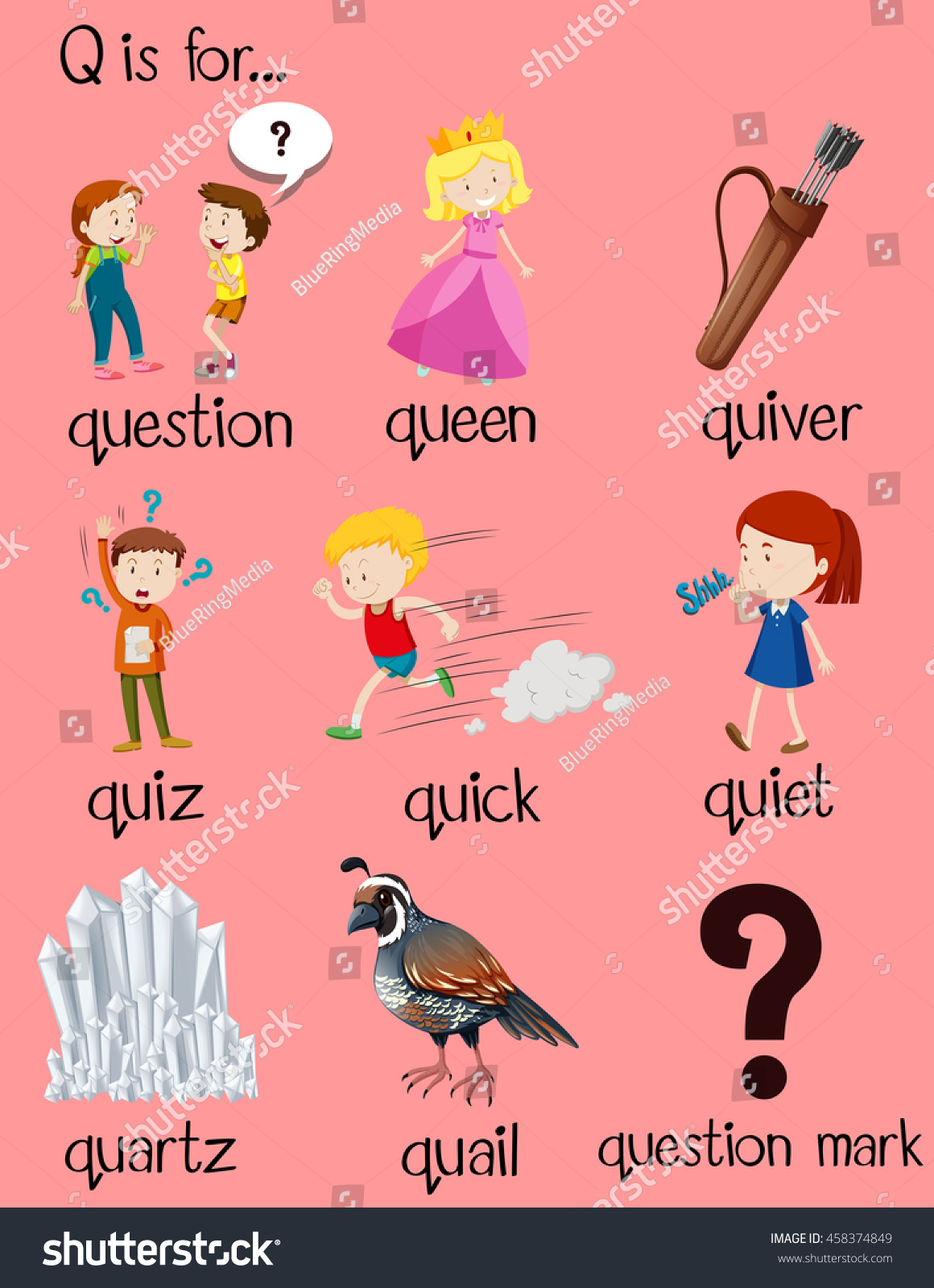 A  Letter Word That Starts With Q