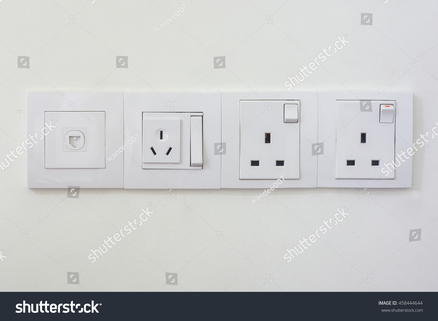 Electrical Outlets And Light Switches In Rooms Malaysia