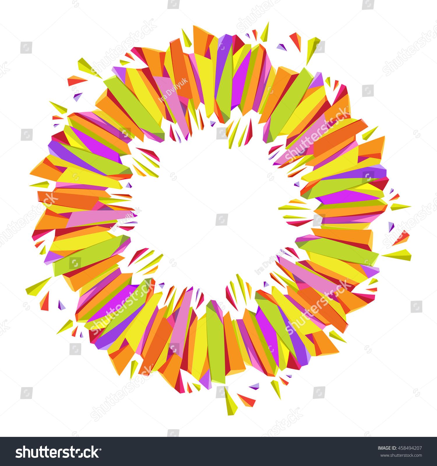 geometric yellow background illustration - photo #34