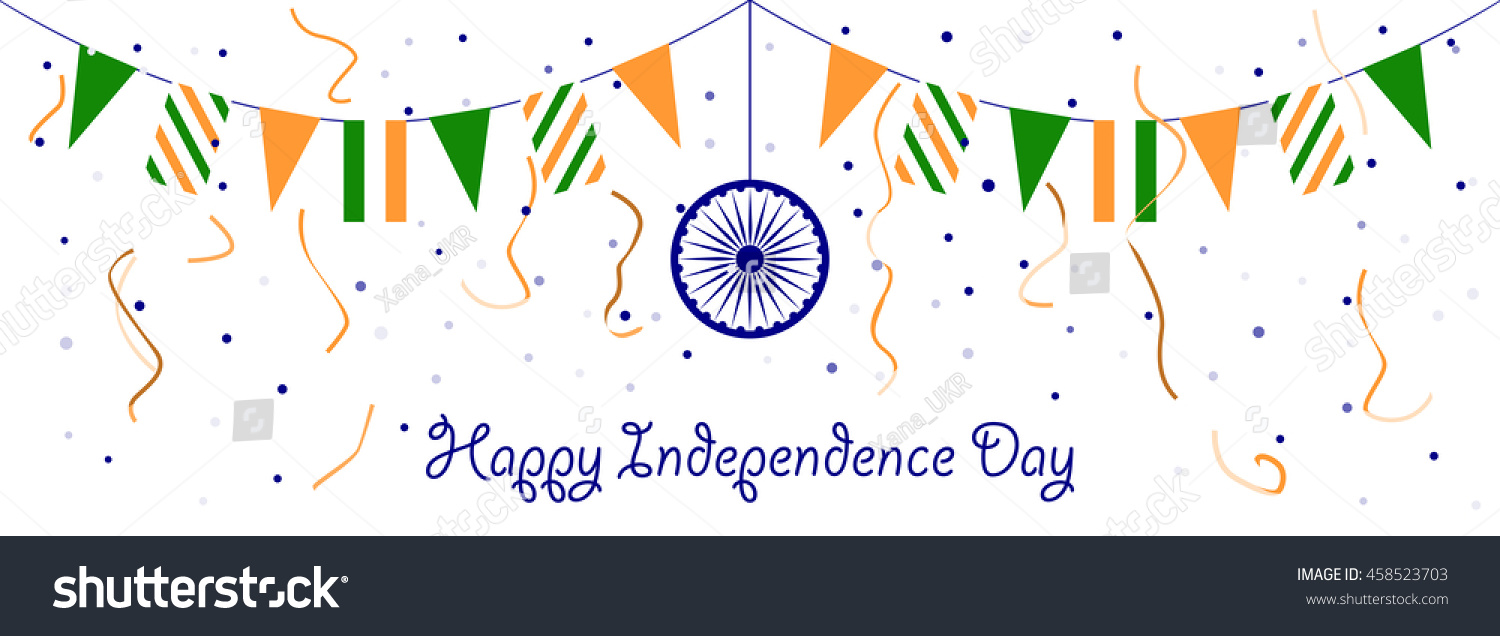 Happy Independence Banners Flat Design Banners