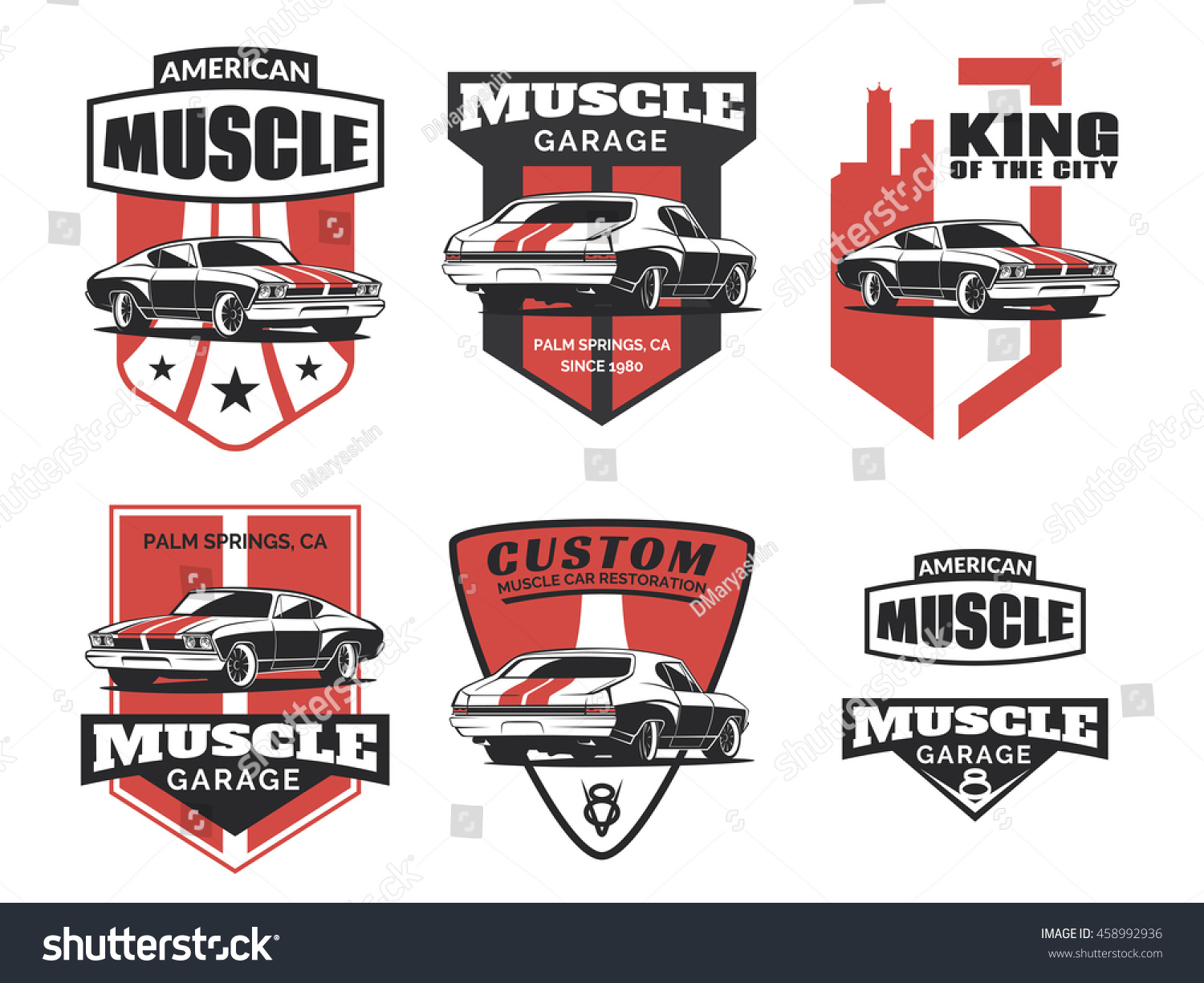 Design car badges