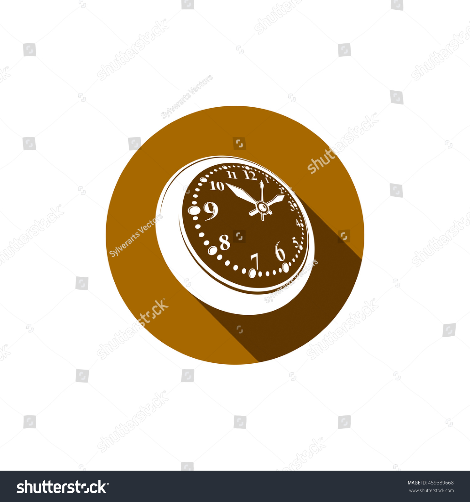 Royalty Free Stock Illustration Of Oldfashioned Pocket Watch Graphic Simple Timer Old Fashioned Classic Stopwatch Time