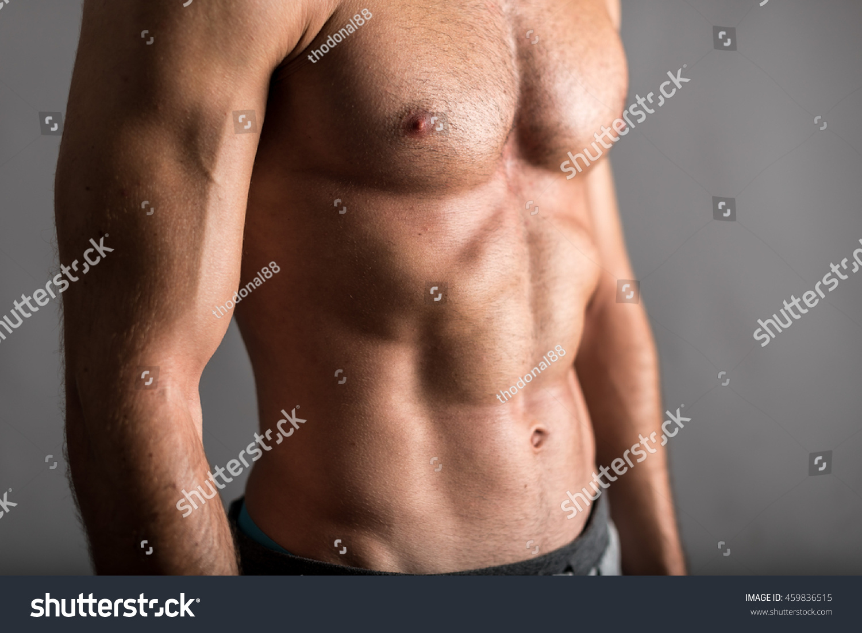 Muscular Torso Young Man Stock Photo Edit Now 459836515 Shutterstock